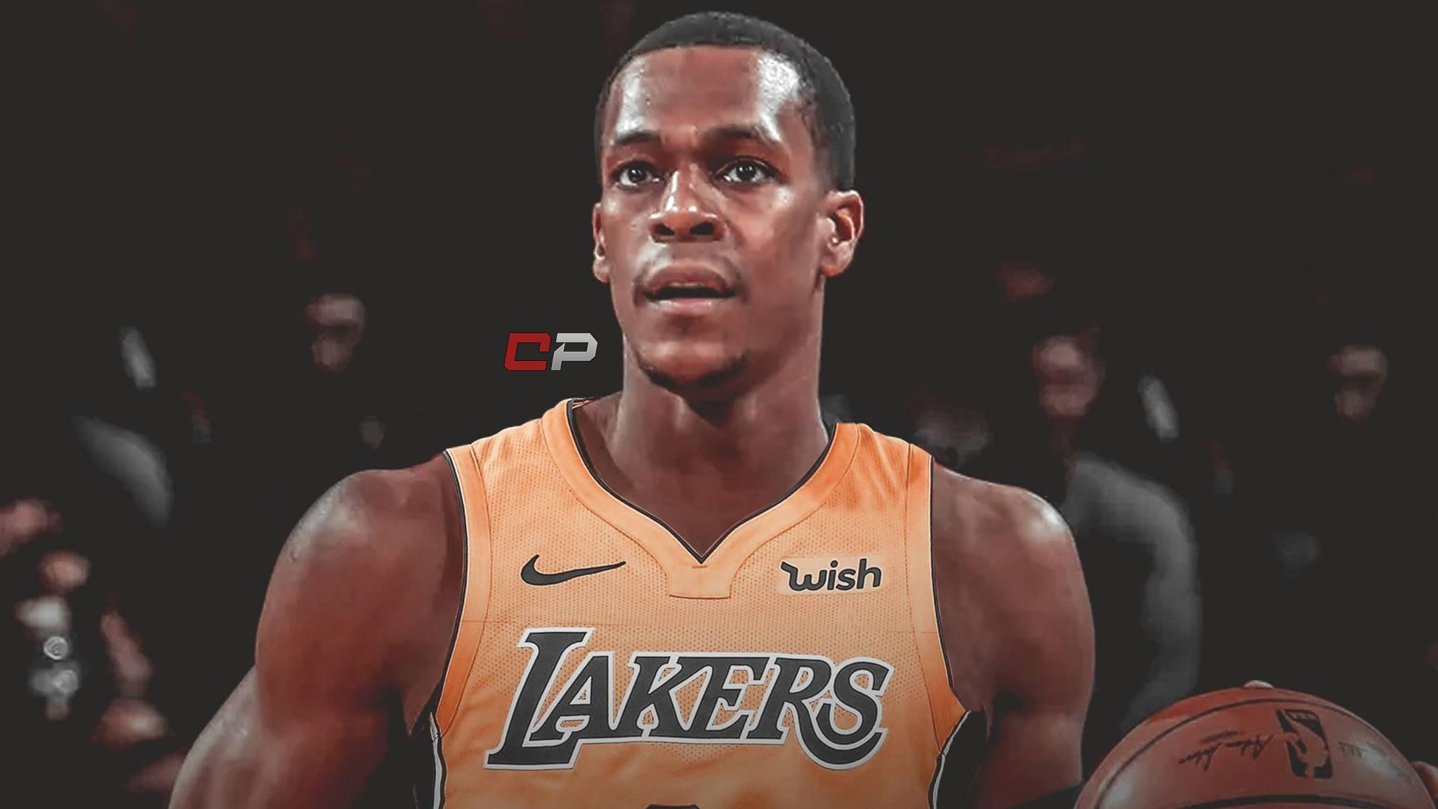 Lakers news: GM Rob Pelinka says Rajon Rondo has 'off-the-charts ...