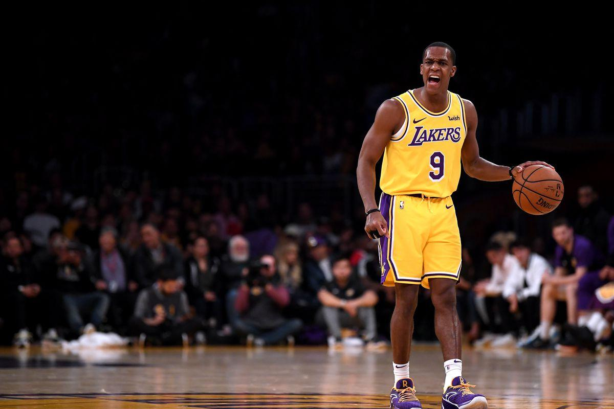 Rajon Rondo felt 'fine' in return, and the Lakers were thrilled to ...
