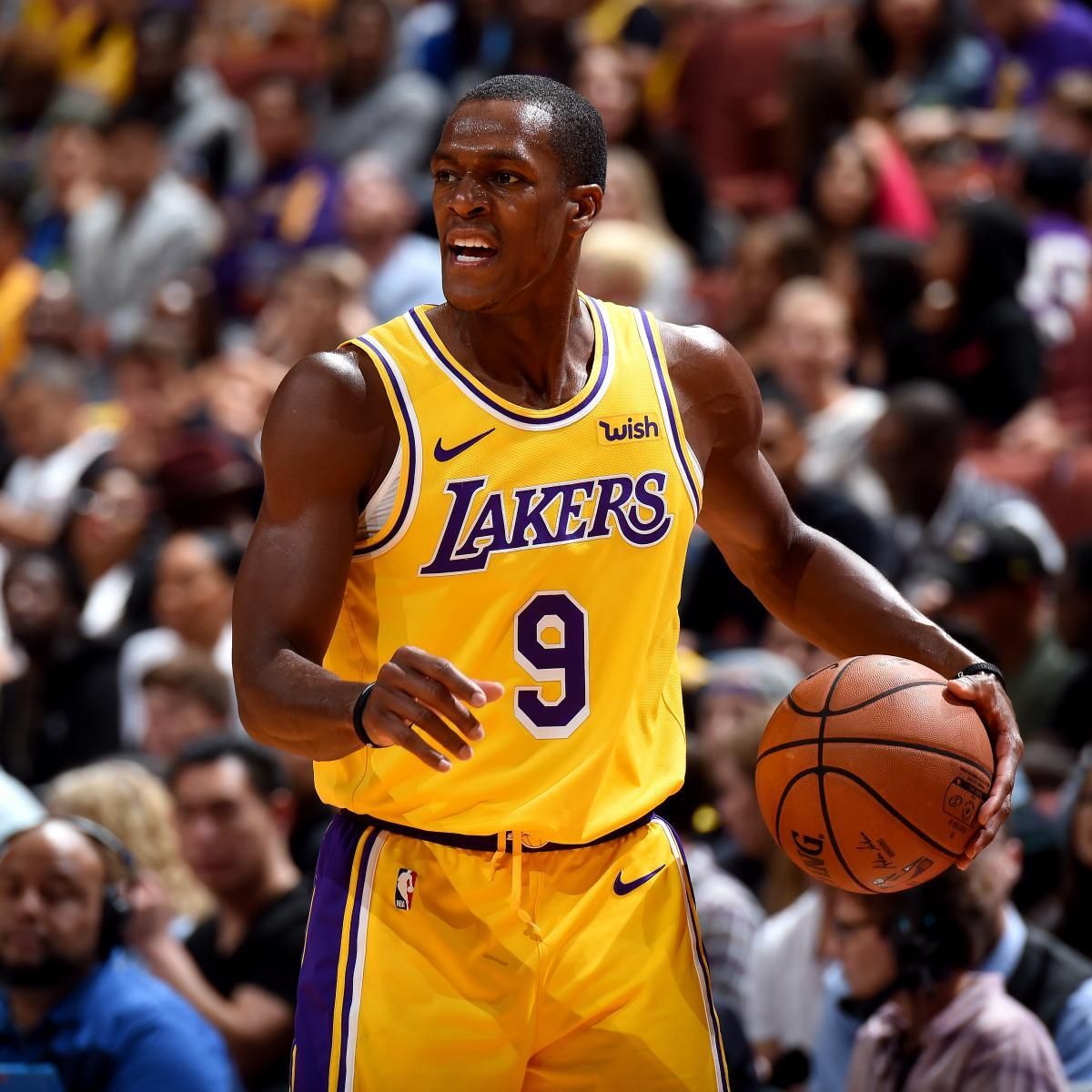 Rajon Rondo Wants to Become 1st Player to Win NBA Title with Lakers ...
