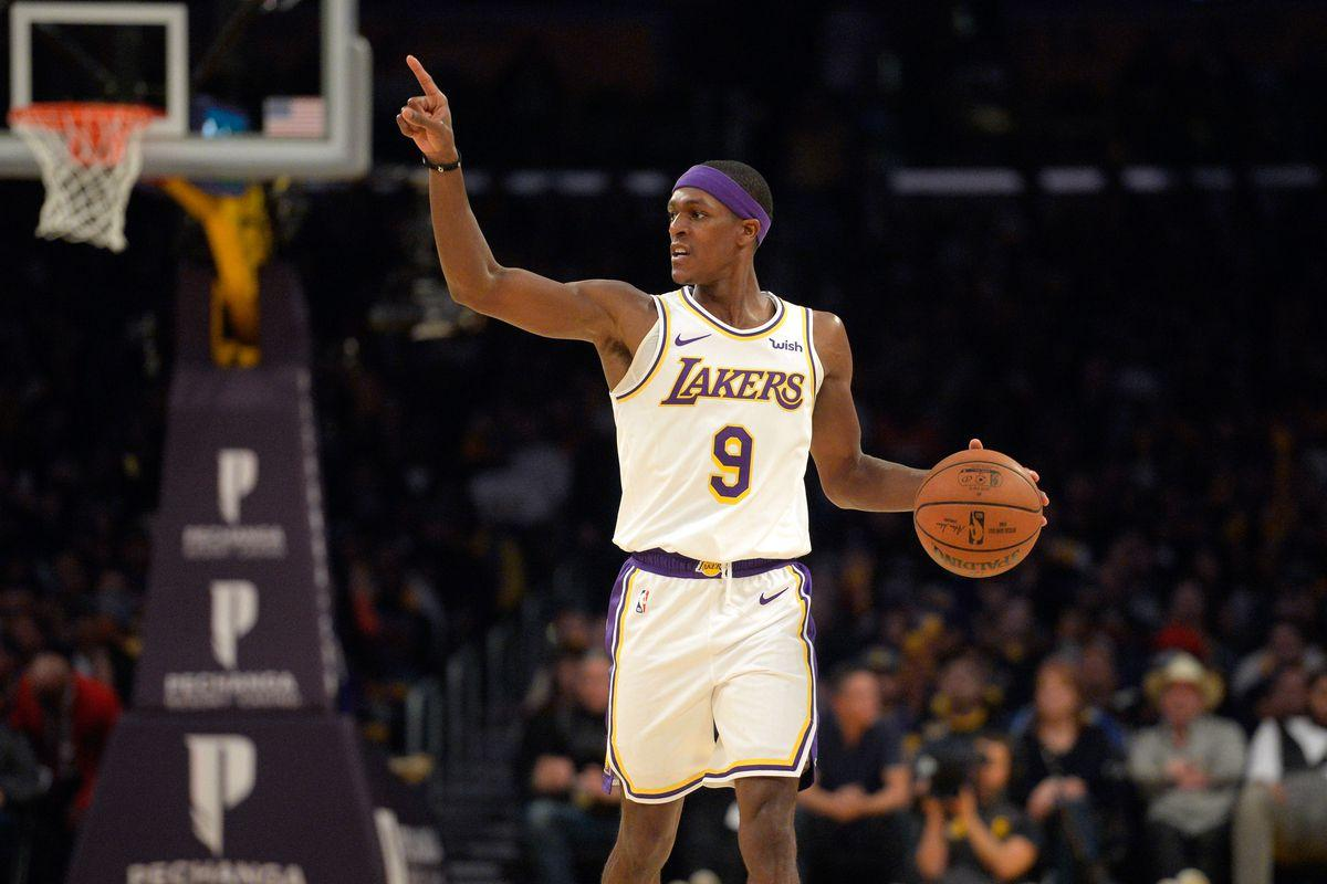 Los Angeles Lakers' Rajon Rondo Could Miss a Month of Action | The ...