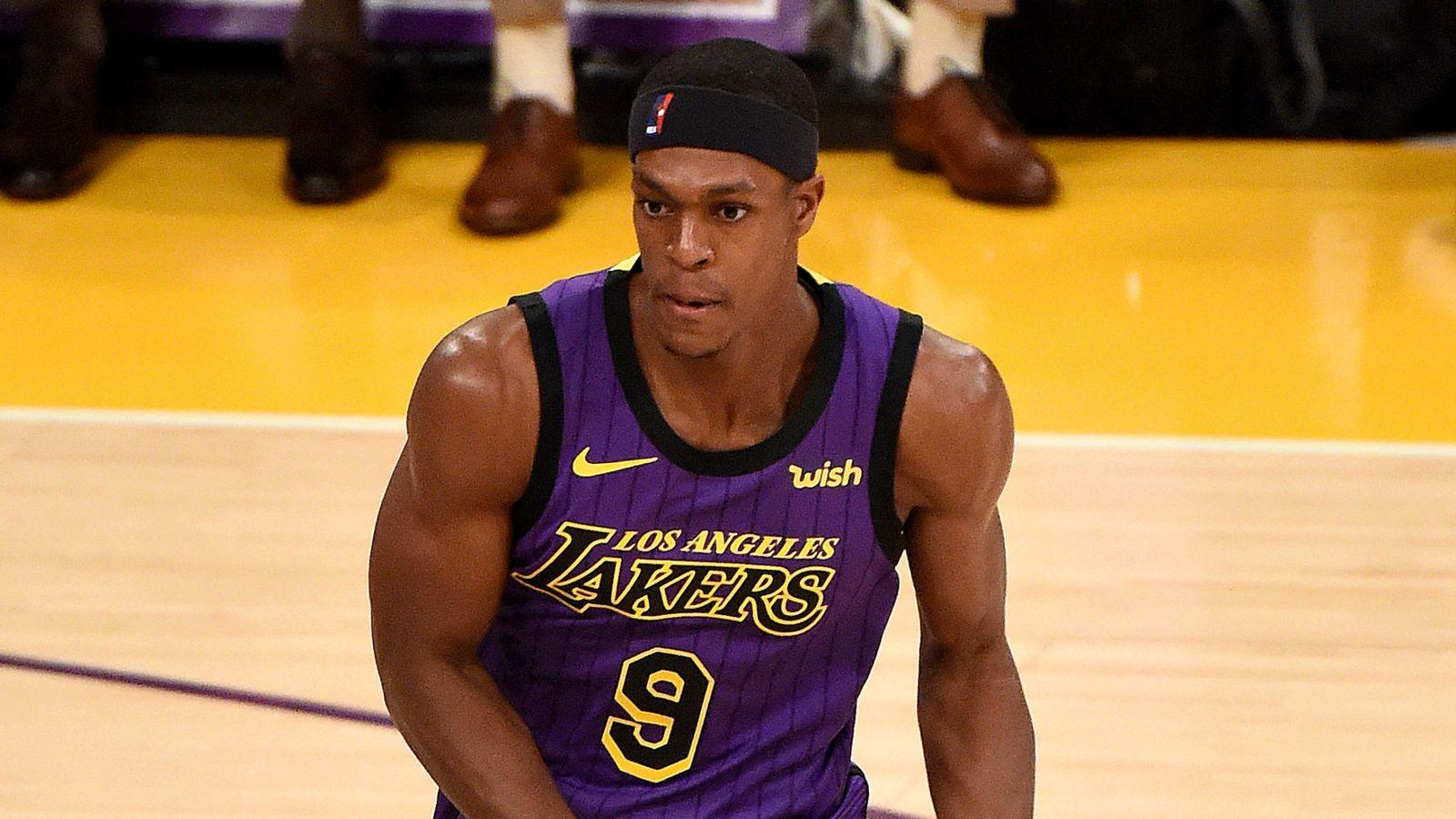 Rajon Rondo's Los Angeles Lakers return delayed | NBA News | Sky Sports