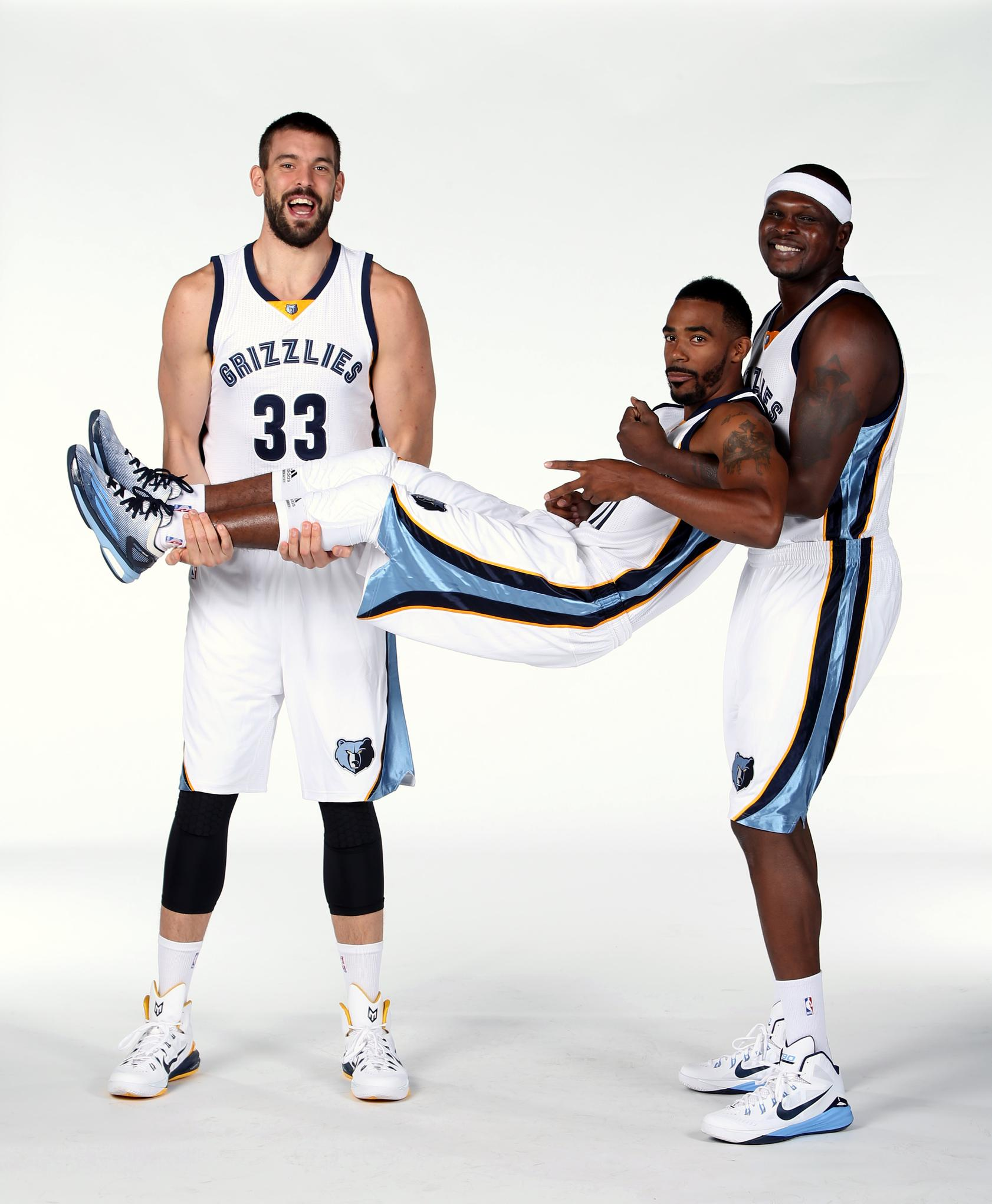 Mike Conley can carry the Grizzlies, but Z-Bo and Marc can most ...