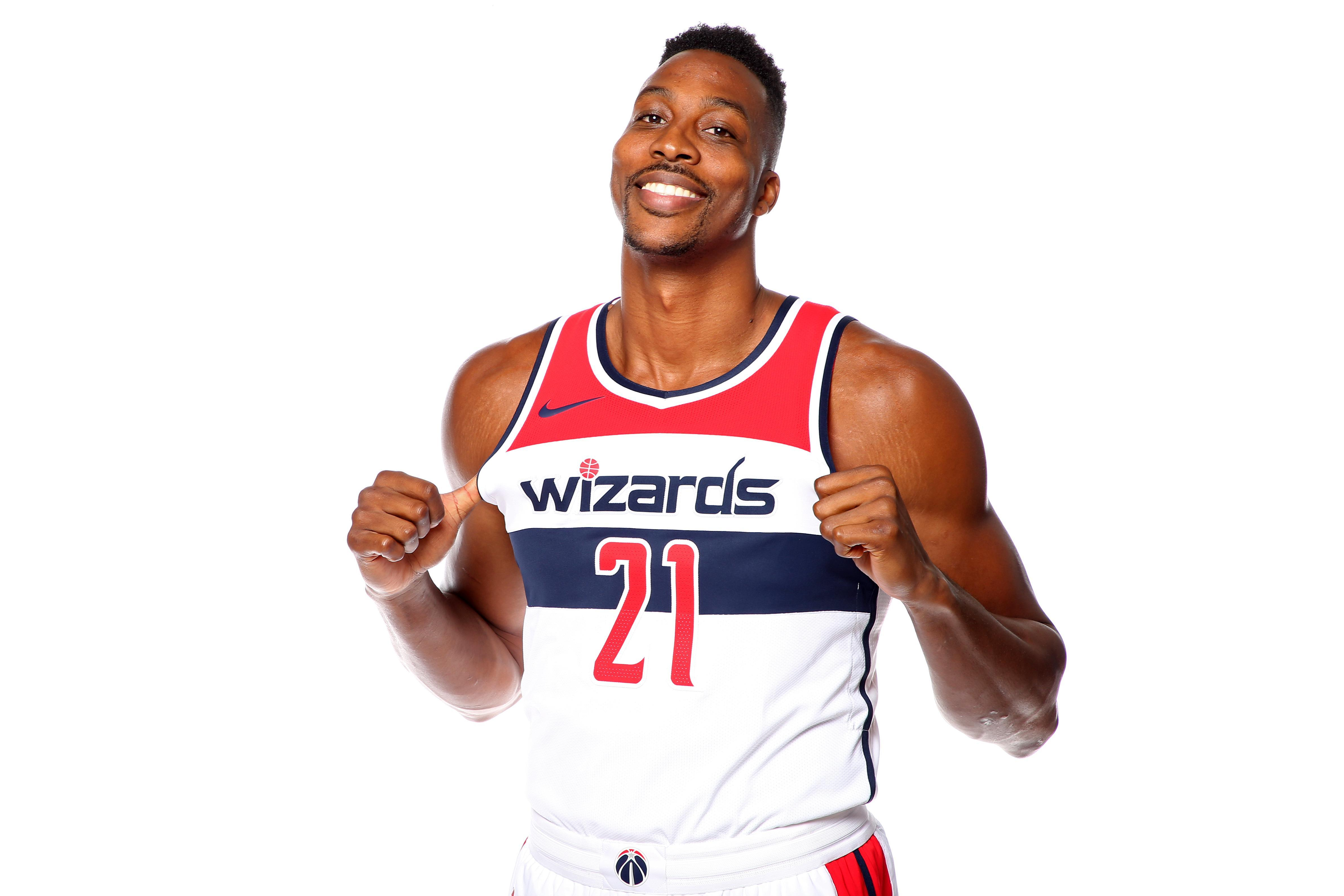 10b928ef015 Washington Wizards give enigmatic Dwight Howard (latest) new chance .