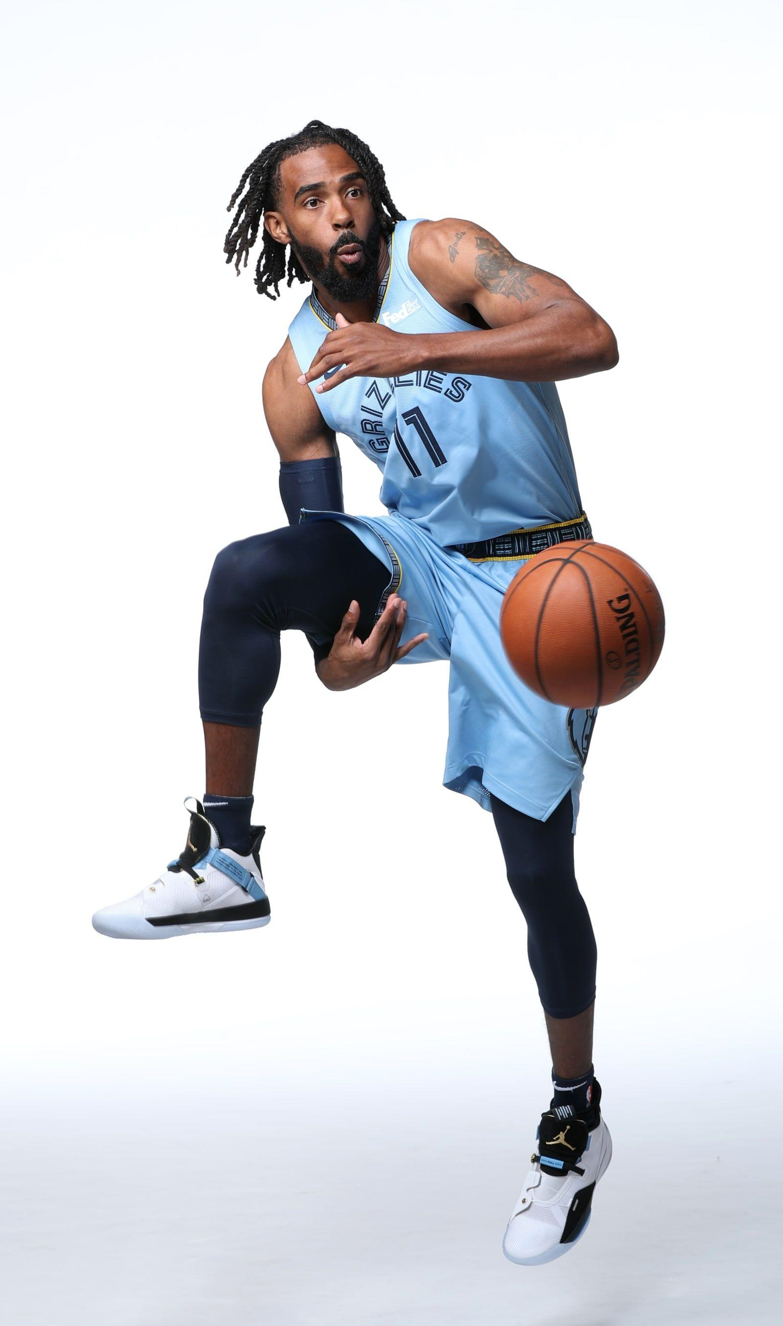 3. Mike Conley - Air Jordan 33 - NBA Media Day 2018 Best Sneakers ...