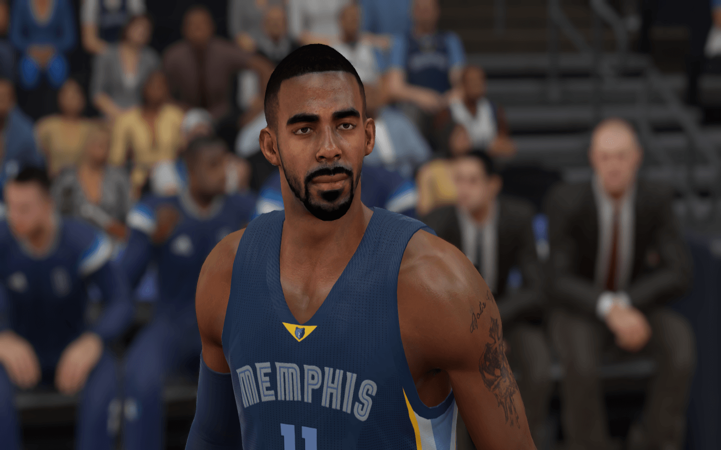 Mike Conley - Cyber Face - NBA 2K15 at ModdingWay