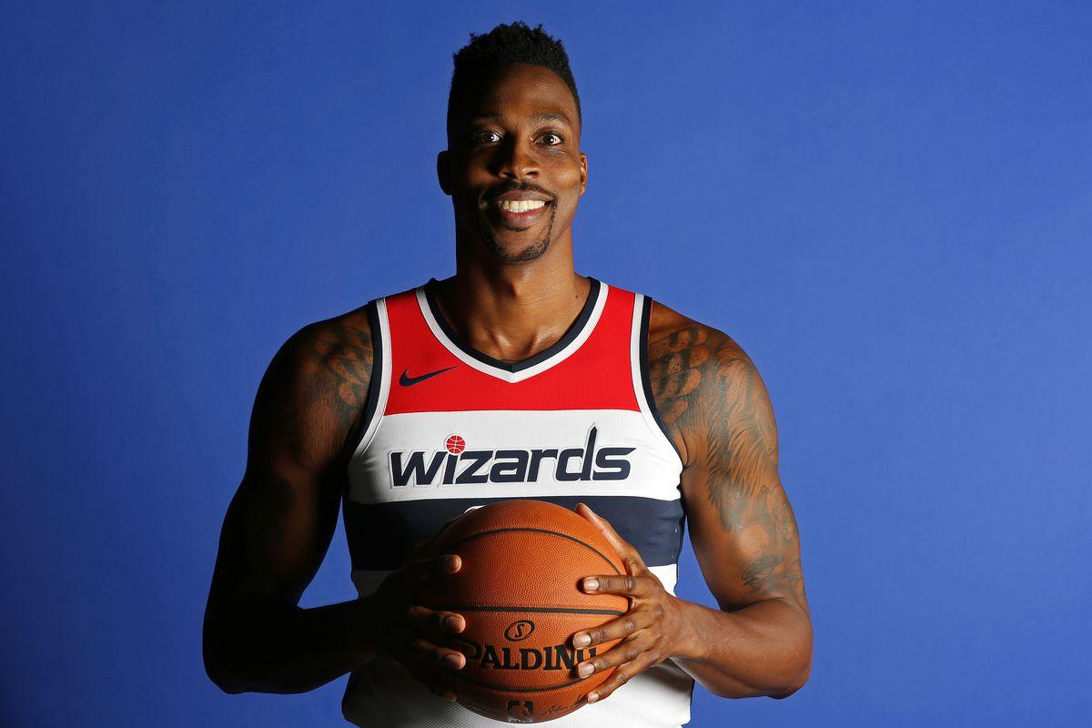 c8e20304ed4 Dwight Howard can have fun again this season with the Wizards .