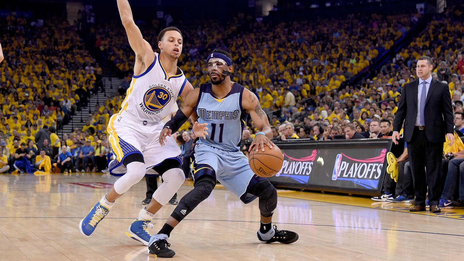 Mike Conley's return keys Grizzlies' Game 2 win over Warriors | NBA ...