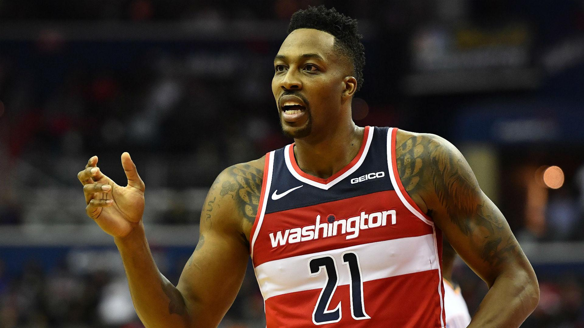 12fe42d6ce5 Dwight Howard impresses in first start, but can't get Wizards out of .