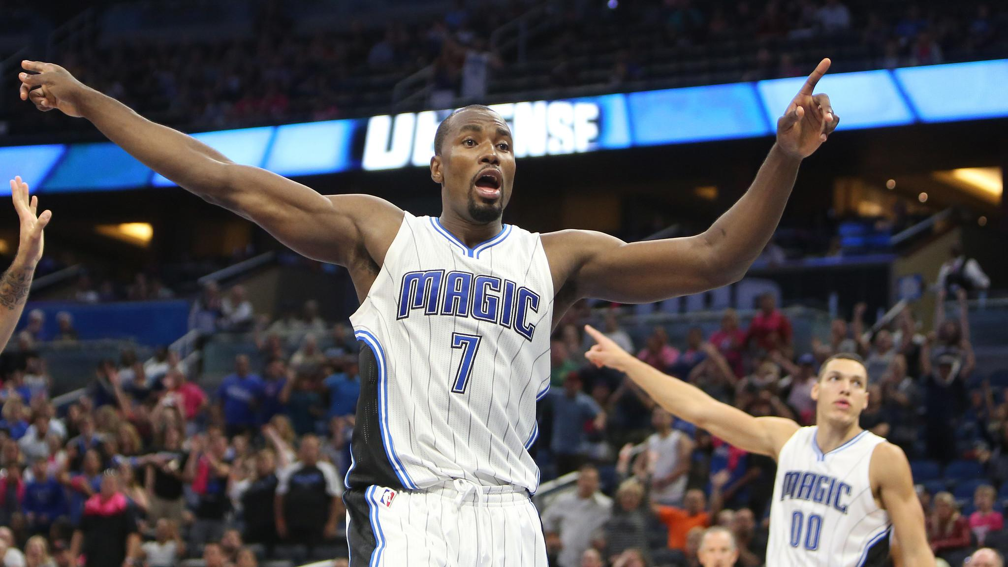 Serge Ibaka: 'I'm just going to ask the Magic fans to keep believing ...