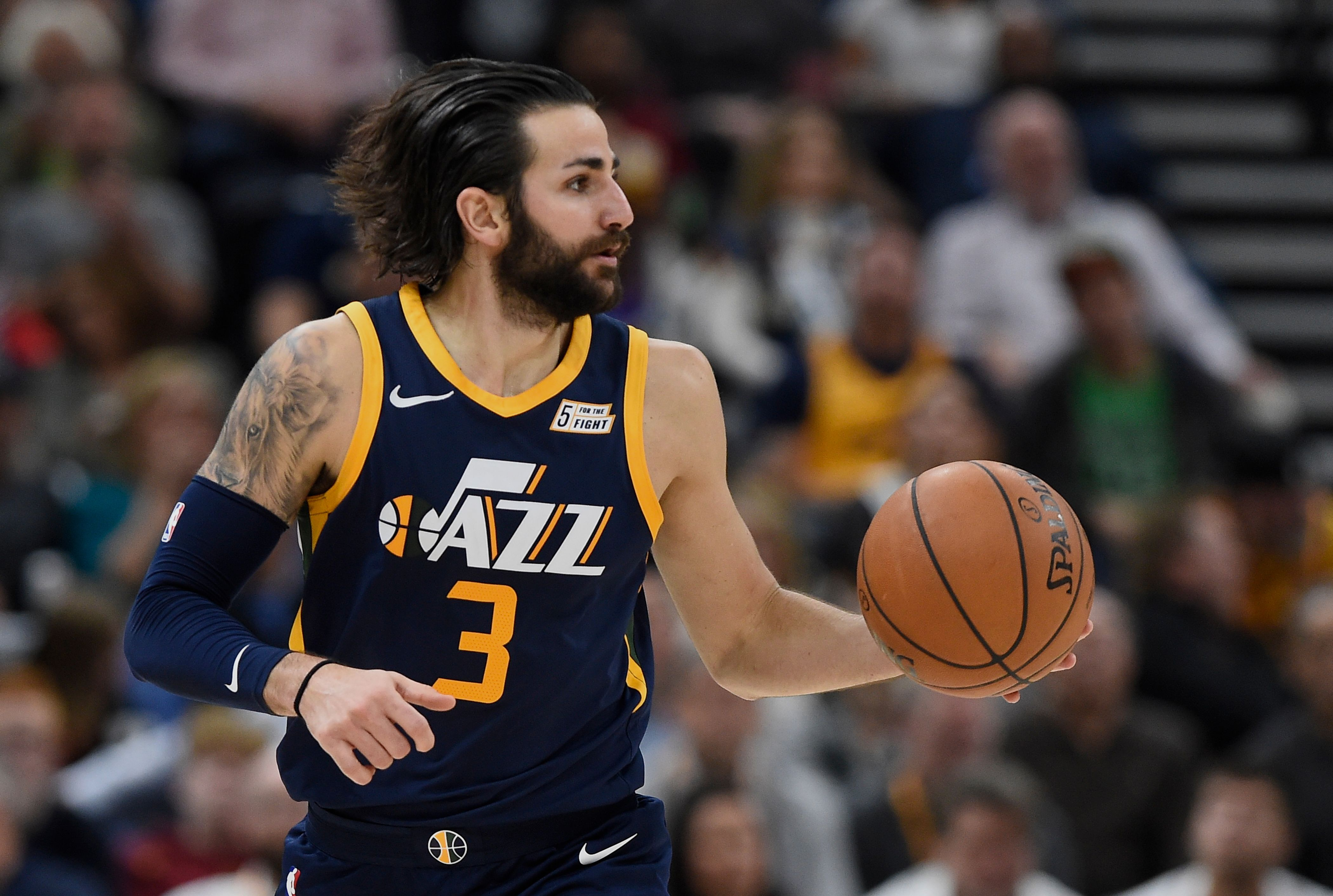 e6b0a426696 Utah Jazz  Ricky Rubio not living up to expectations in 2017-18