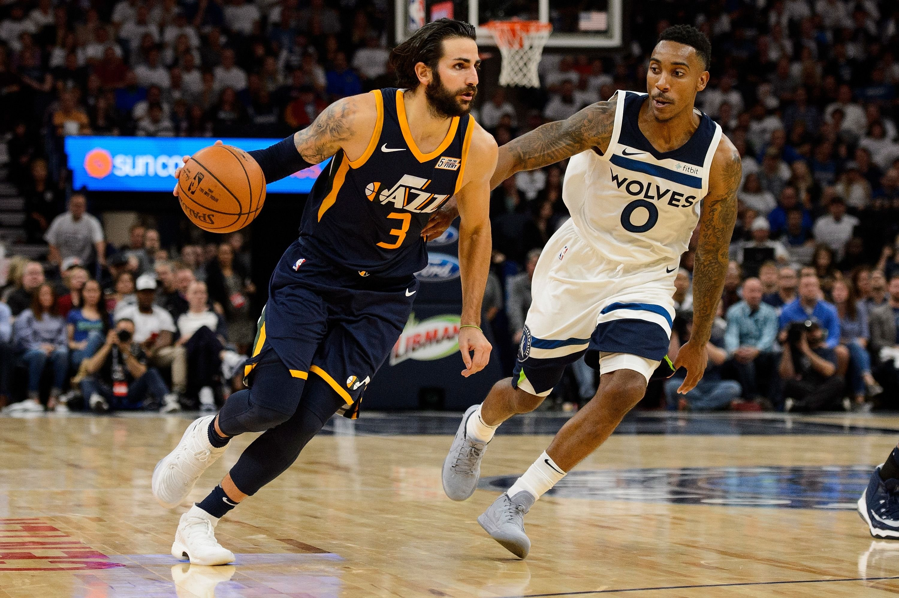 5ce8c8f14a0 Utah Jazz  Ricky Rubio is fortunate to no longer be in Minnesota
