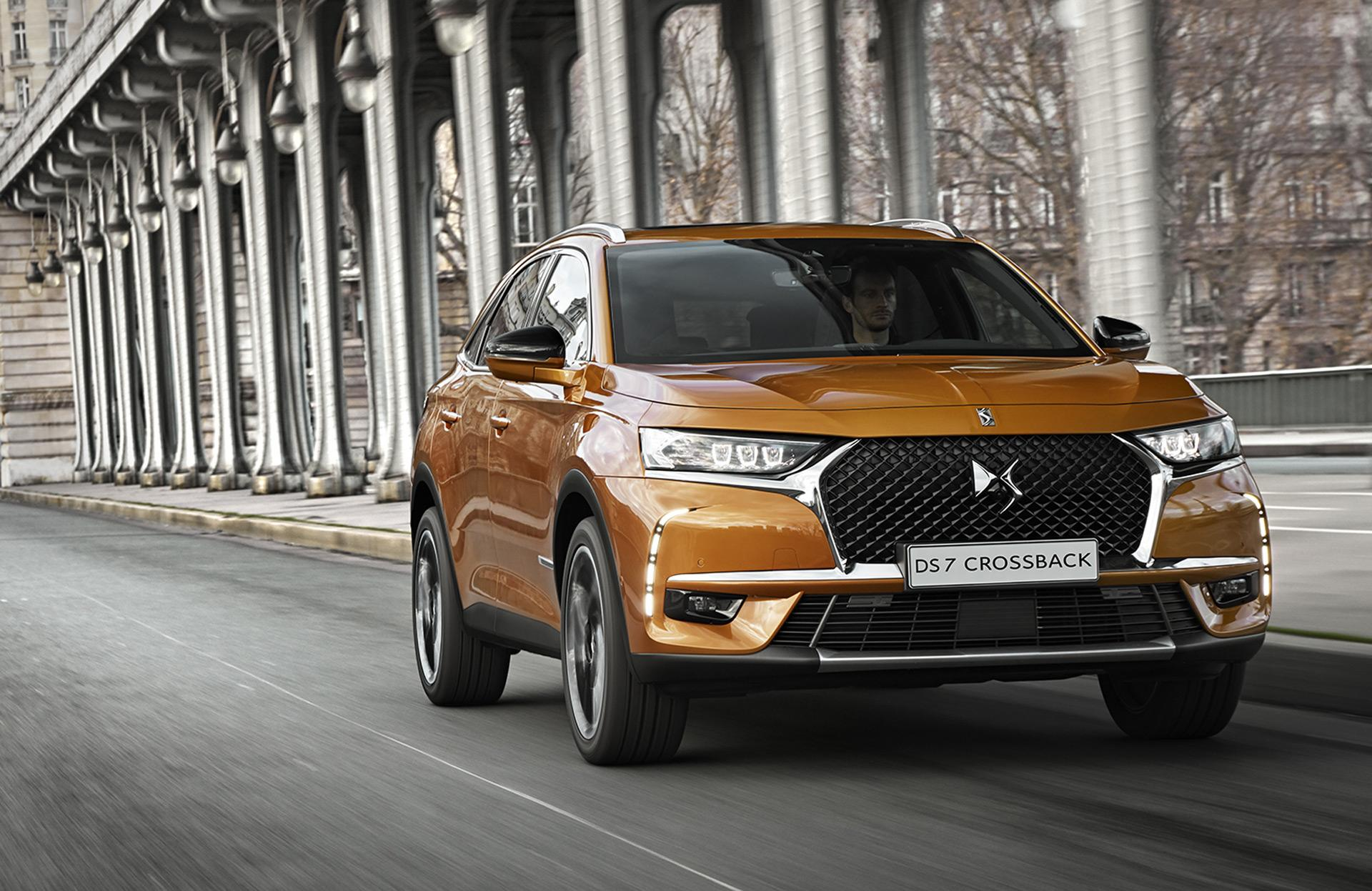 French luxury brand DS launches DS 7 Crossback