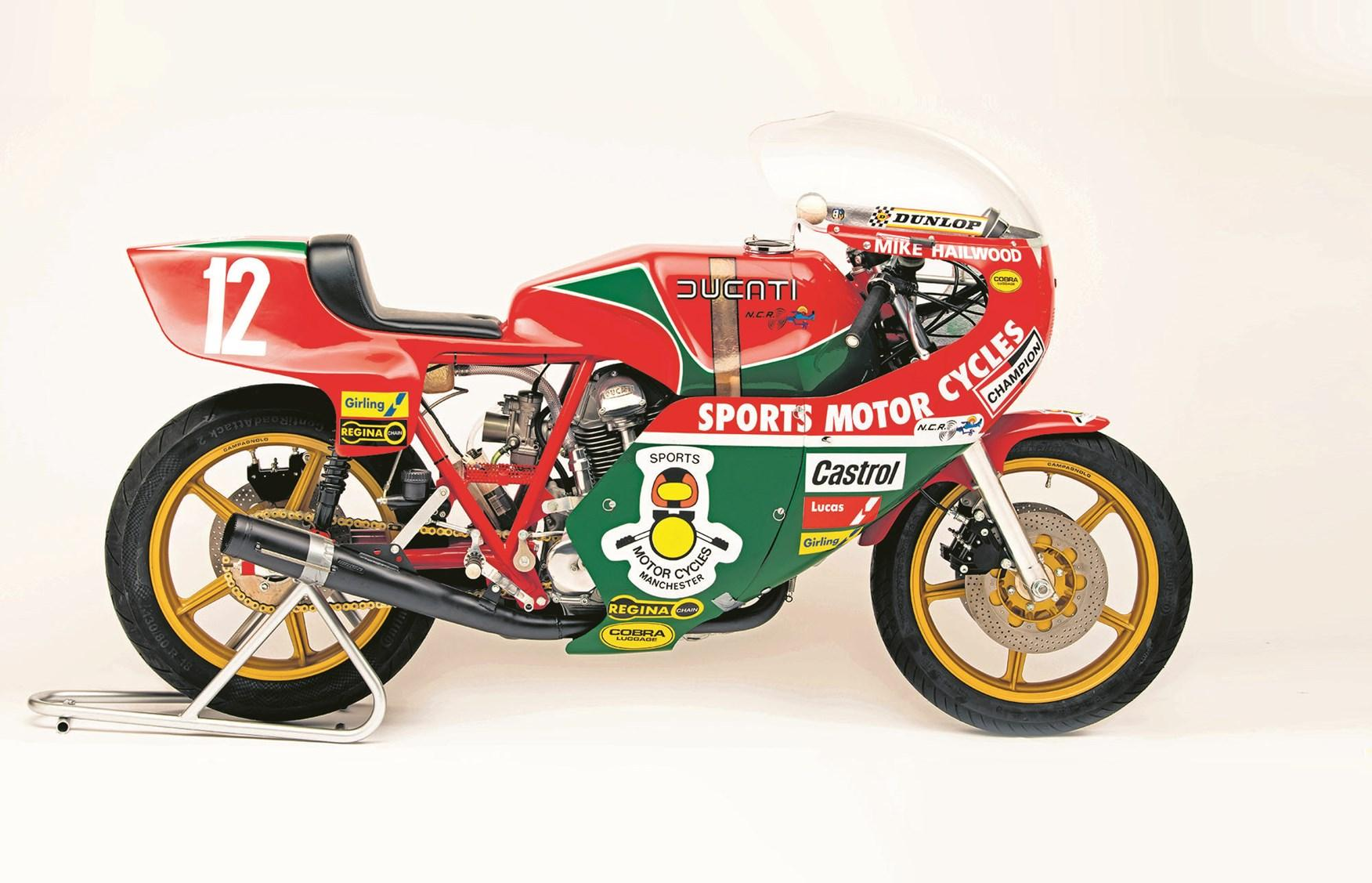 Ducati give blessing for 1978 Hailwood replicas