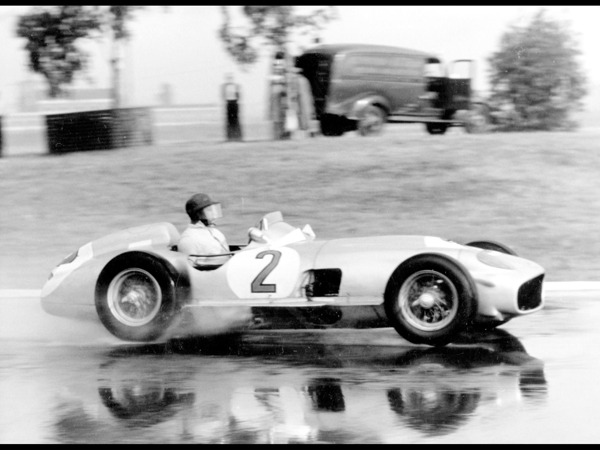Mercedes-Benz and Juan Manuel Fangio - 1955 Buenos Aires Grand Prix ...