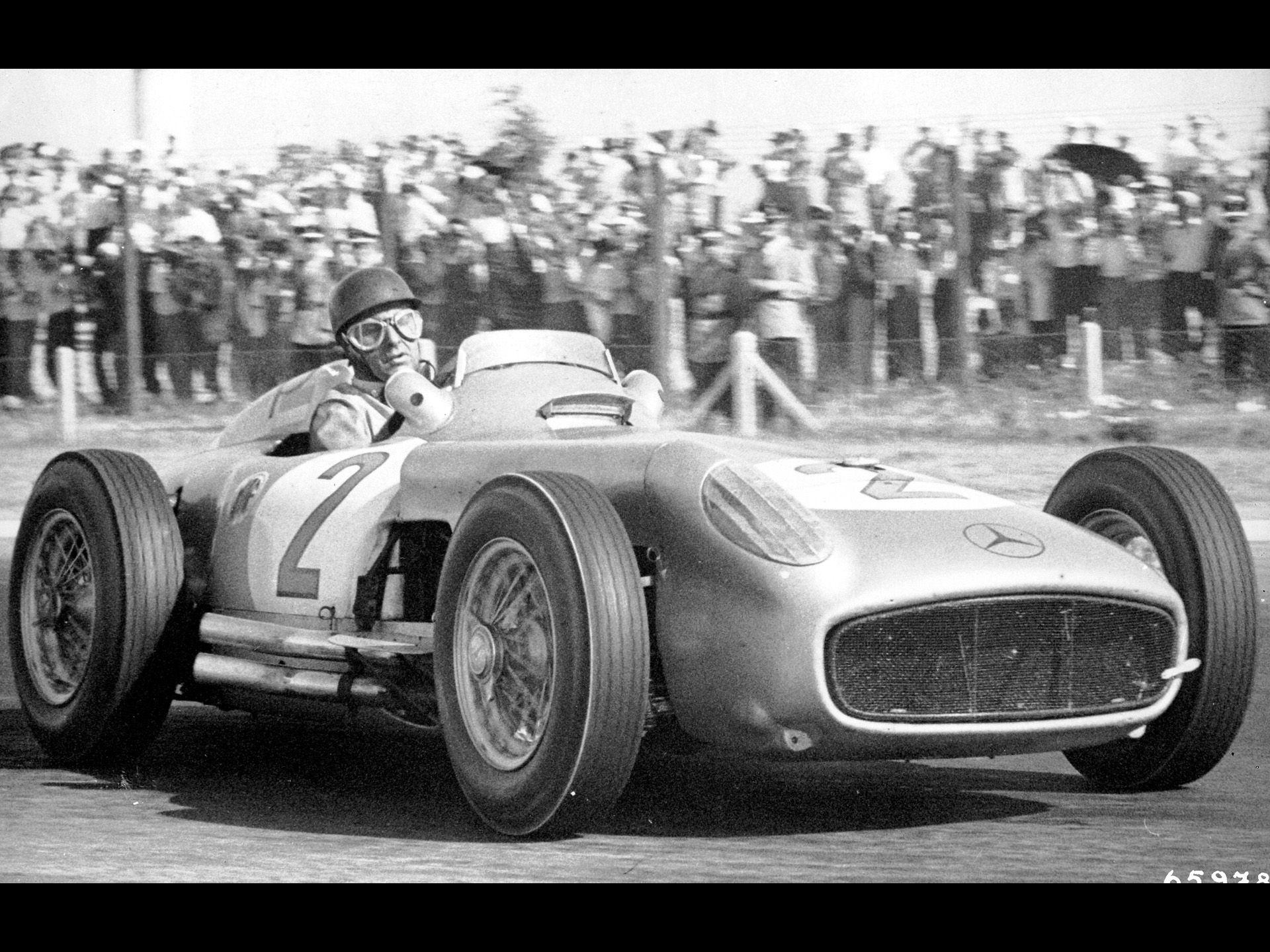 Mercedes-Benz and Juan Manuel Fangio - 1955 Argentinean Grand Prix ...