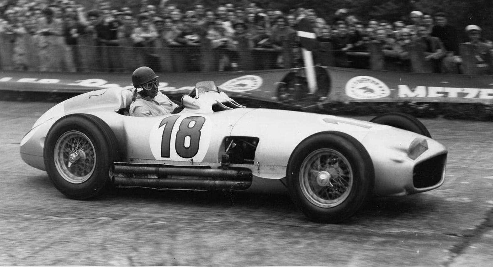1954 Mercedes-Benz W196 Driven To Victory By Juan Manuel Fangio Up ...