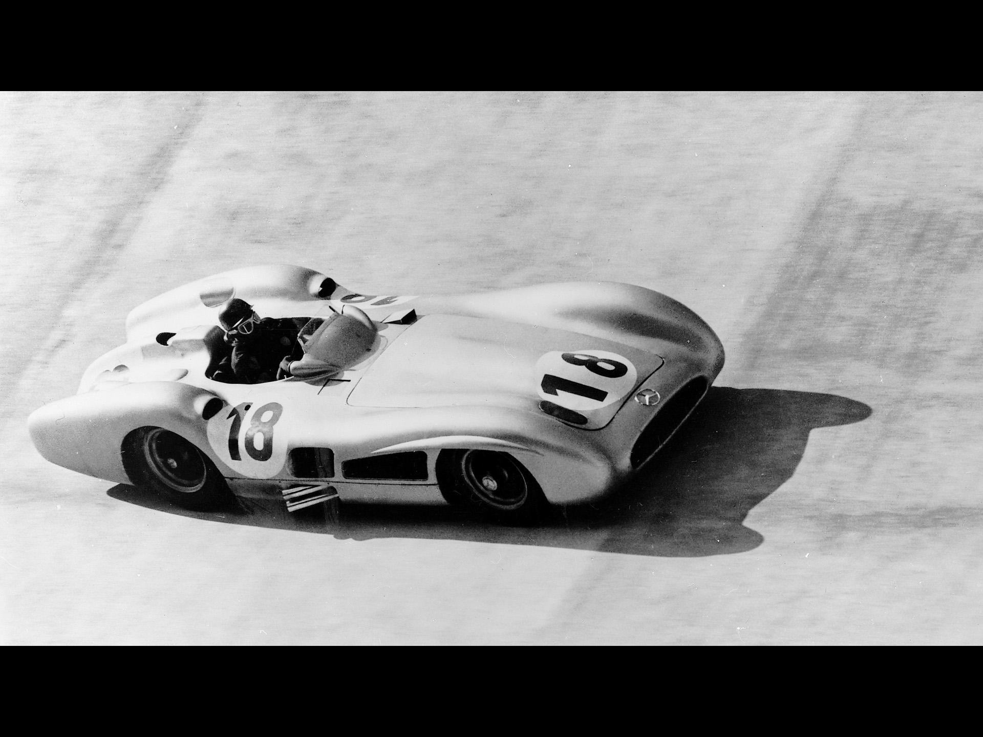 Mercedes-Benz and Juan Manuel Fangio - 1955 Italian Grand Prix ...