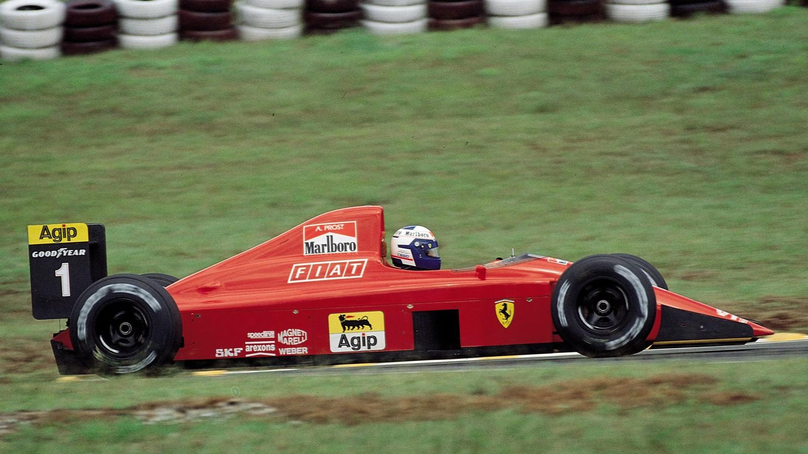 Alain Prost wins on rival's home circuit | Scuderia Ferrari