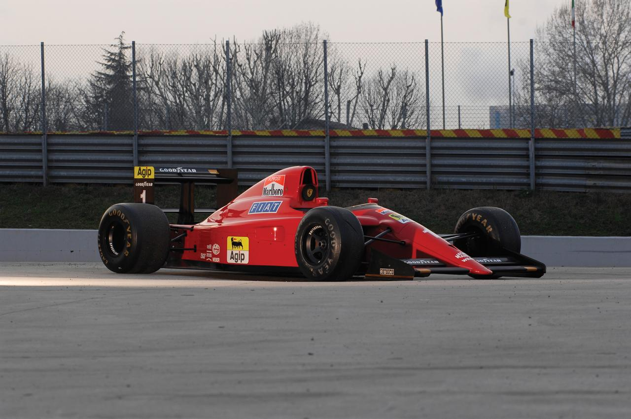 Alain Prost's Ferrari F1 Car Up For Auction Pictures, Photos ...