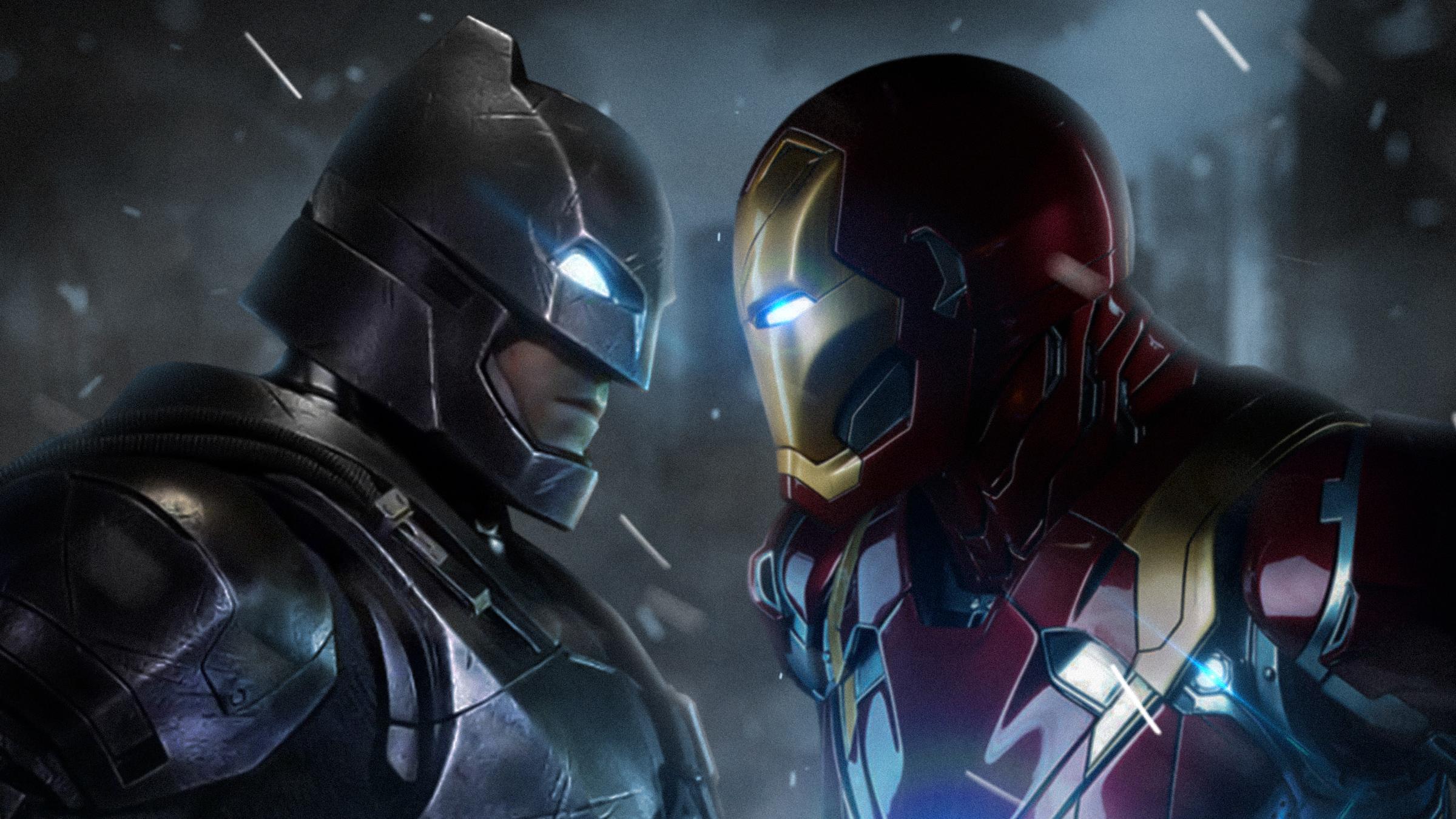 Batman Vs Iron Man Wallpapers Wallpaper Cave