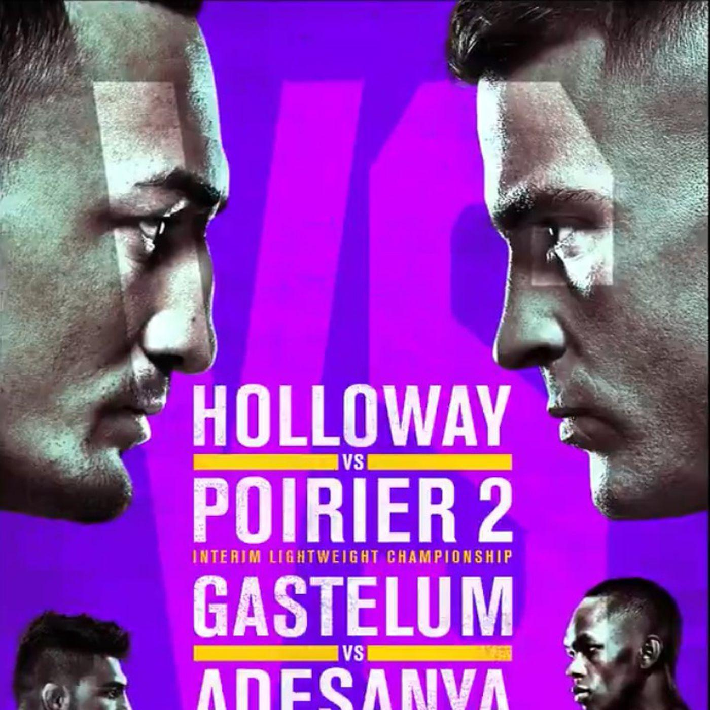 Pic: UFC 236 official poster drops for 'Holloway vs. Poirier 2 ...