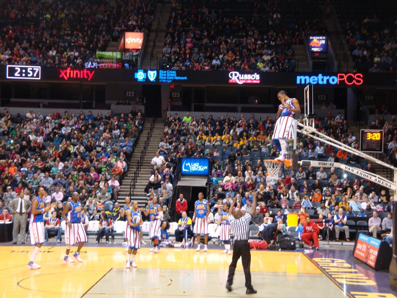 RN you glad you came to my blog: Harlem globetrotters