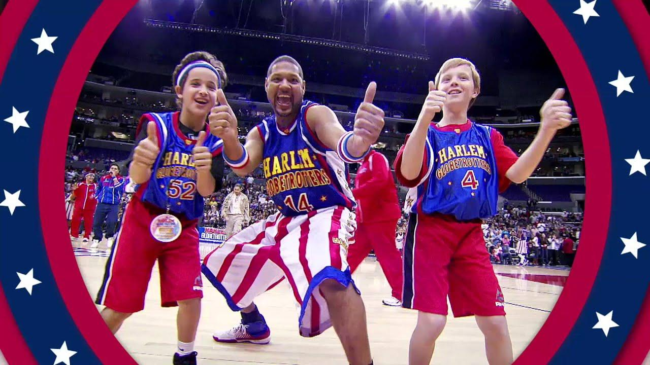Harlem Globetrotters 90th Anniversary - YouTube