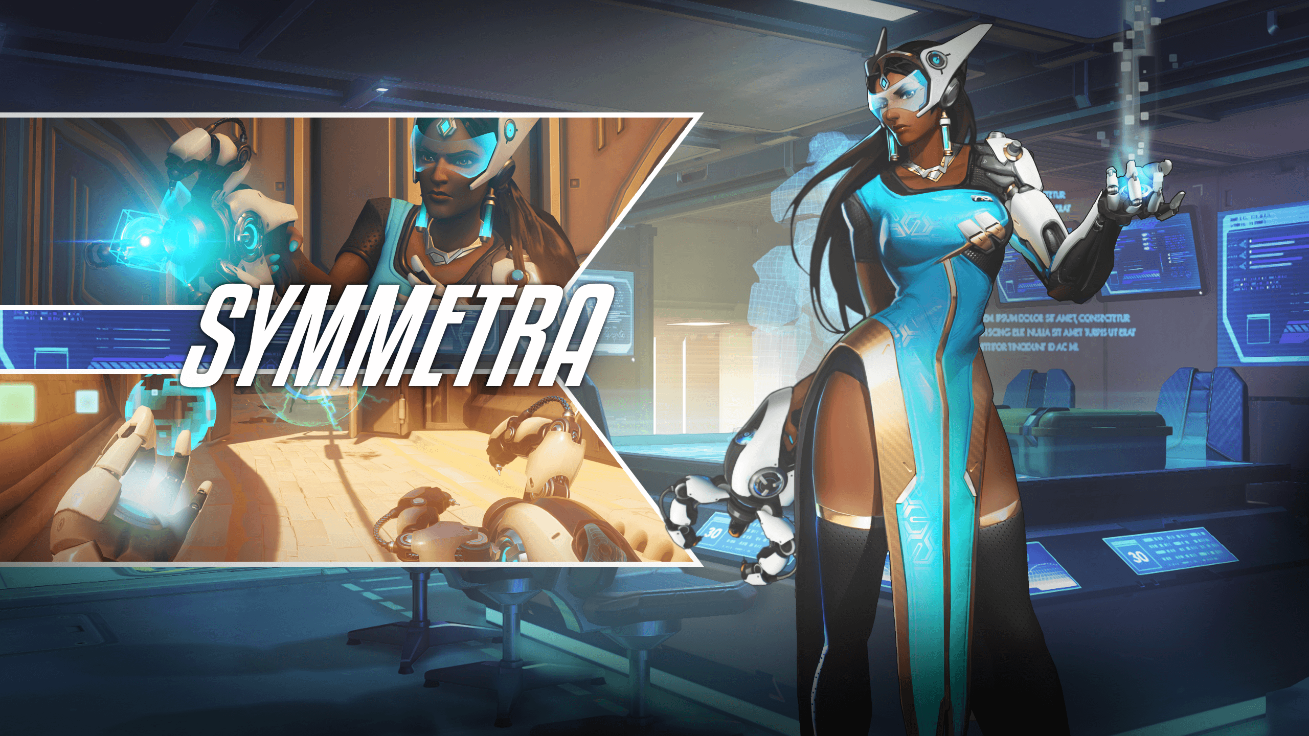 58 Symmetra (Overwatch) HD Wallpapers | Background Images ...