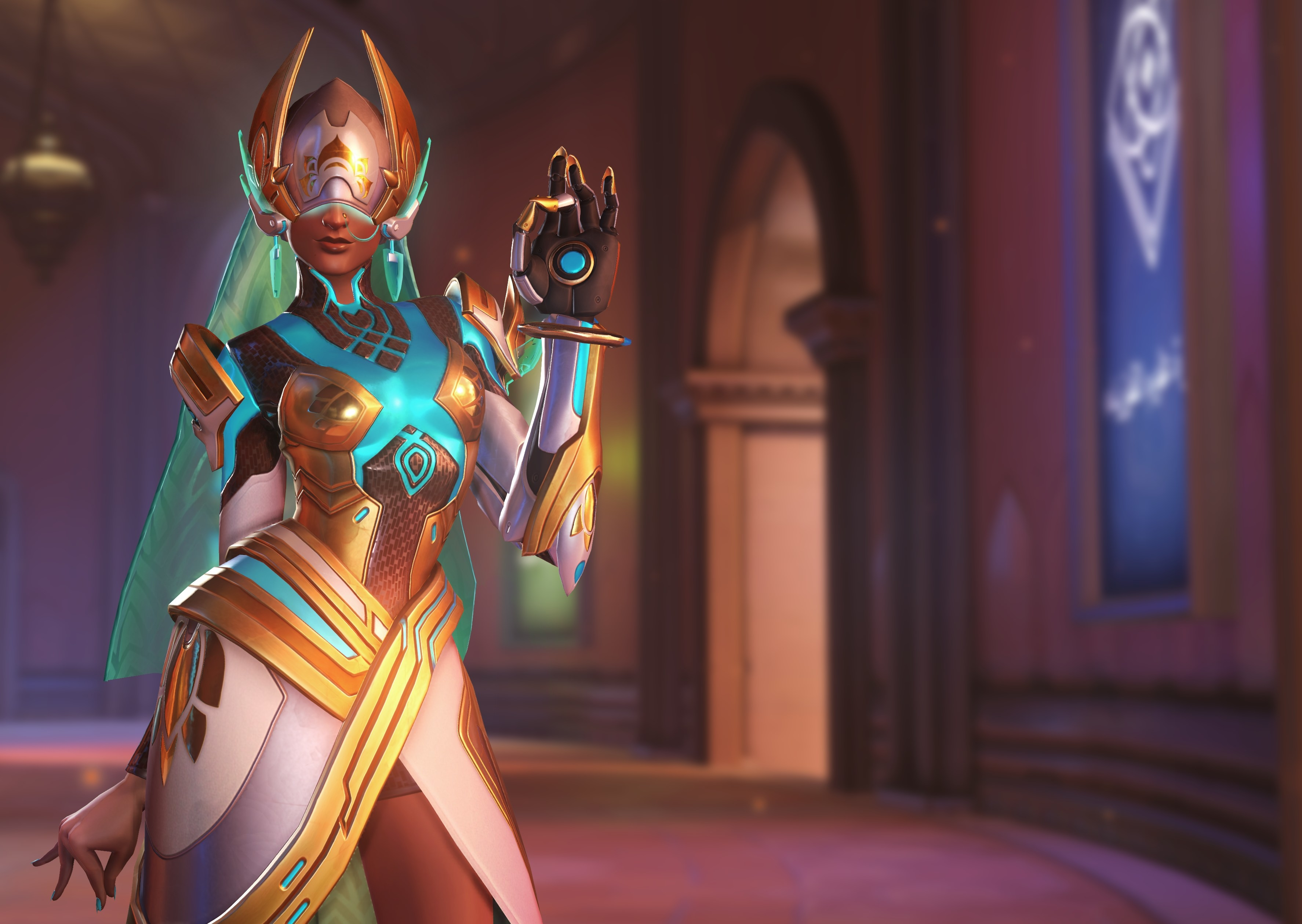 Symmetra Overwatch 4k, HD Games, 4k Wallpapers, Images, Backgrounds ...