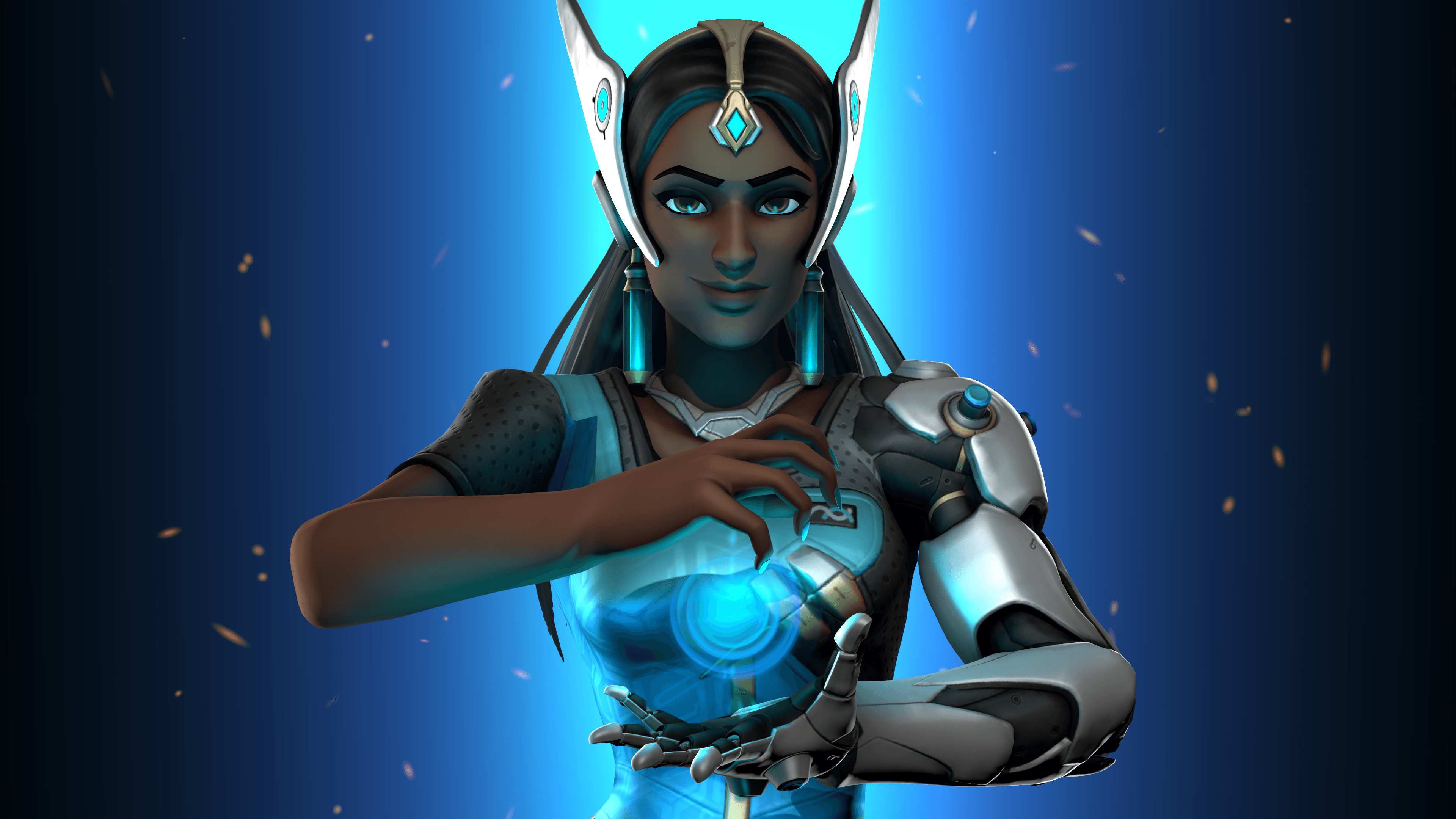 11 4K Ultra HD Symmetra (Overwatch) Wallpapers | Background Images ...