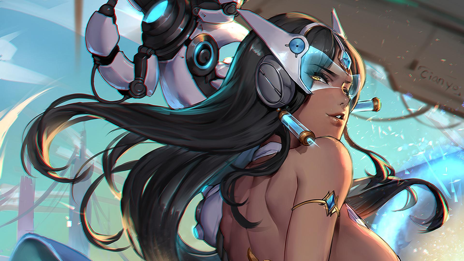 Symmetra Sexy Drawing | Overwatch Wallpapers