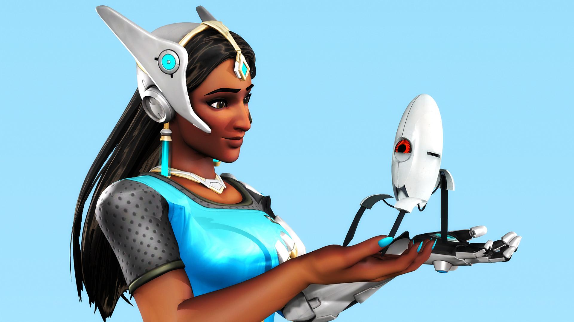 Symmetra With Sentry Turret | Overwatch Wallpapers