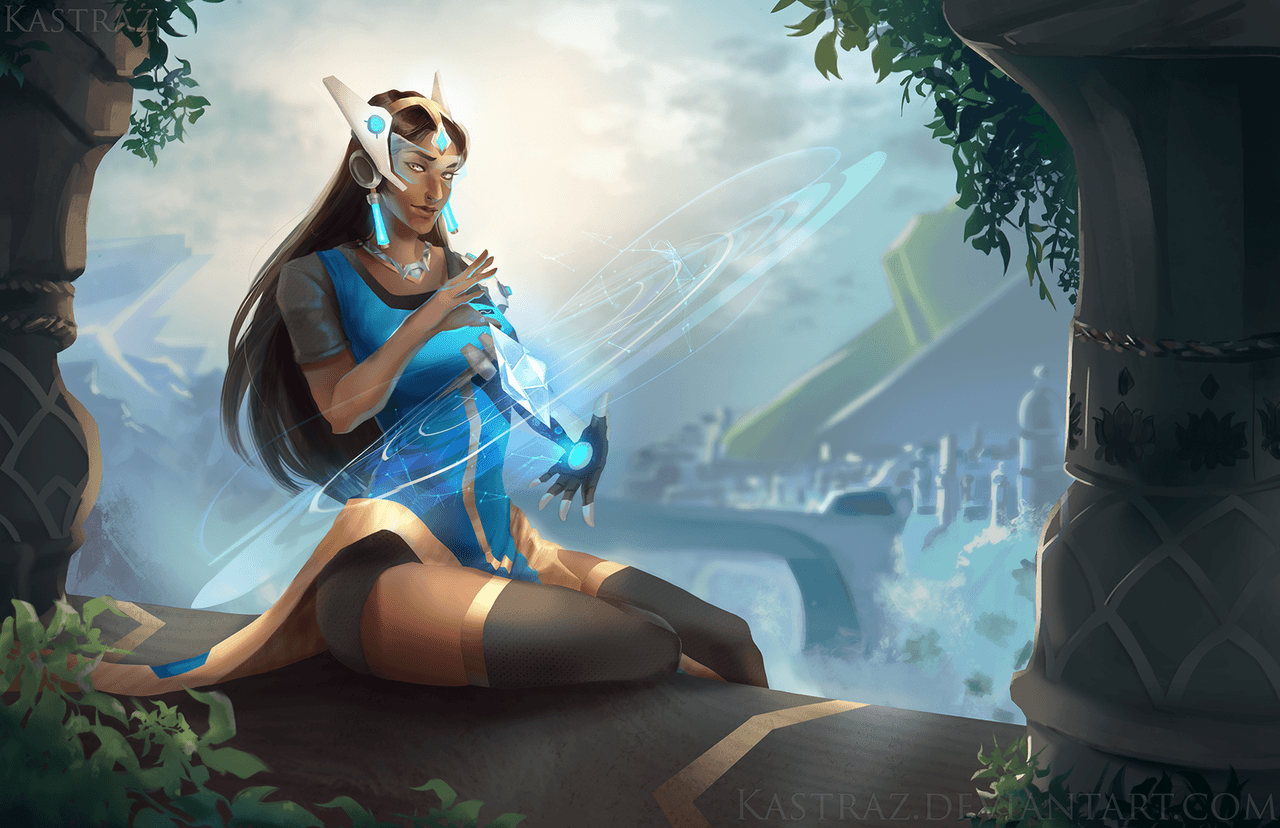 Download New Symmetra Wallpaper For Android #7AP