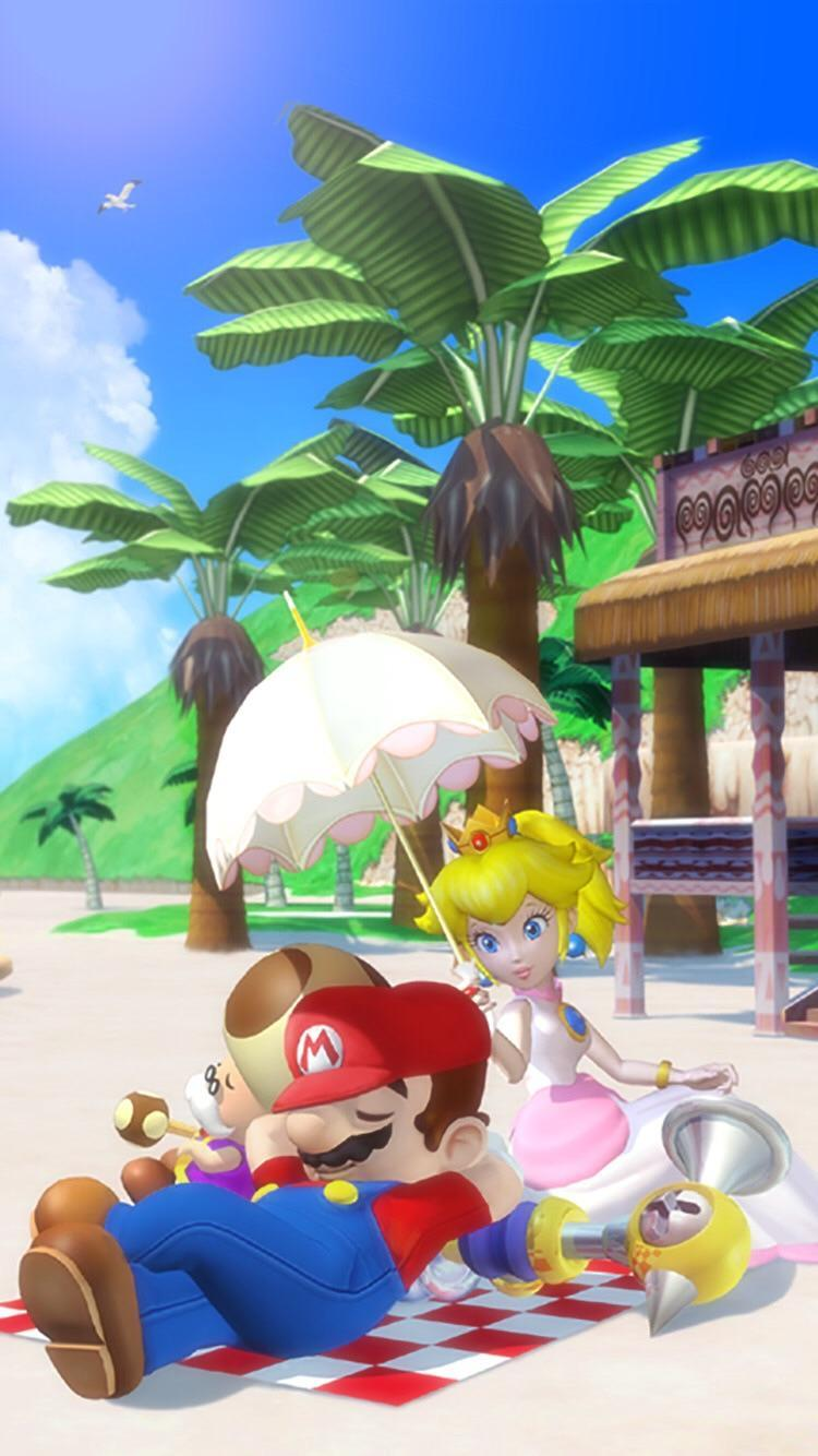 Super Mario Sunshine Wallpapers Wallpaper Cave