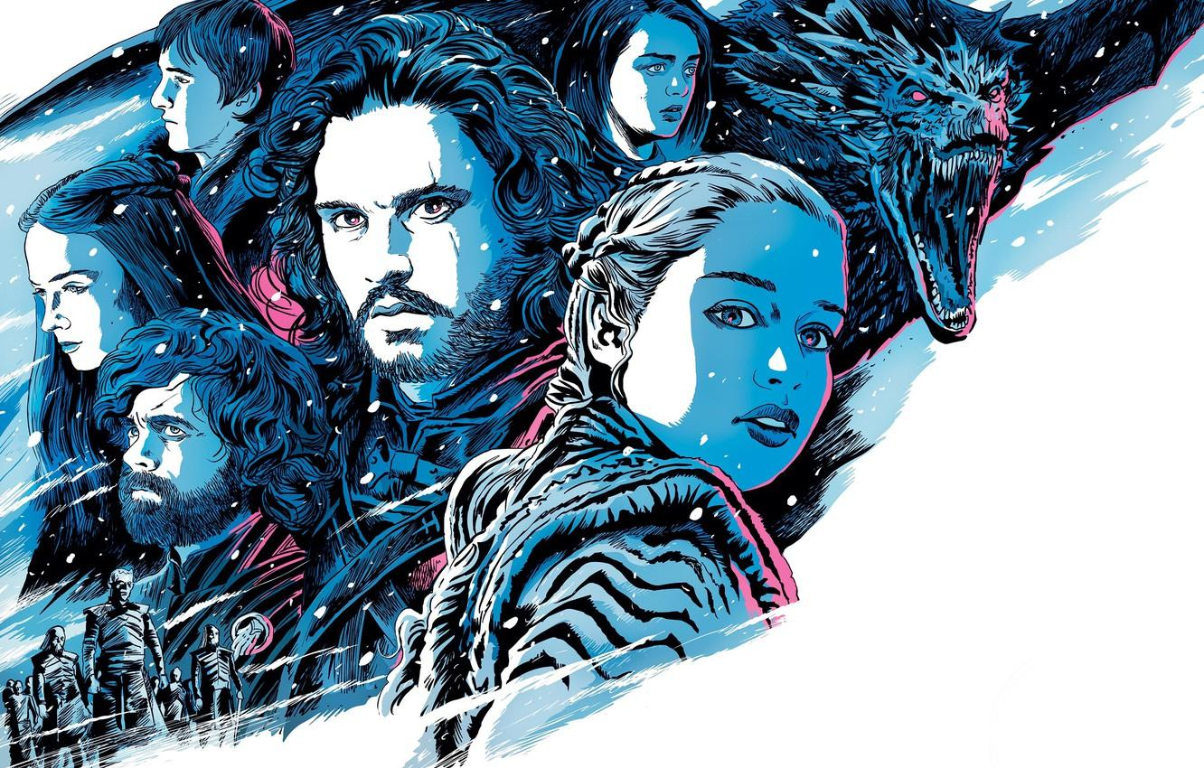 Wallpapers Game of Thrones, Game of thrones, Season 8, Season 8