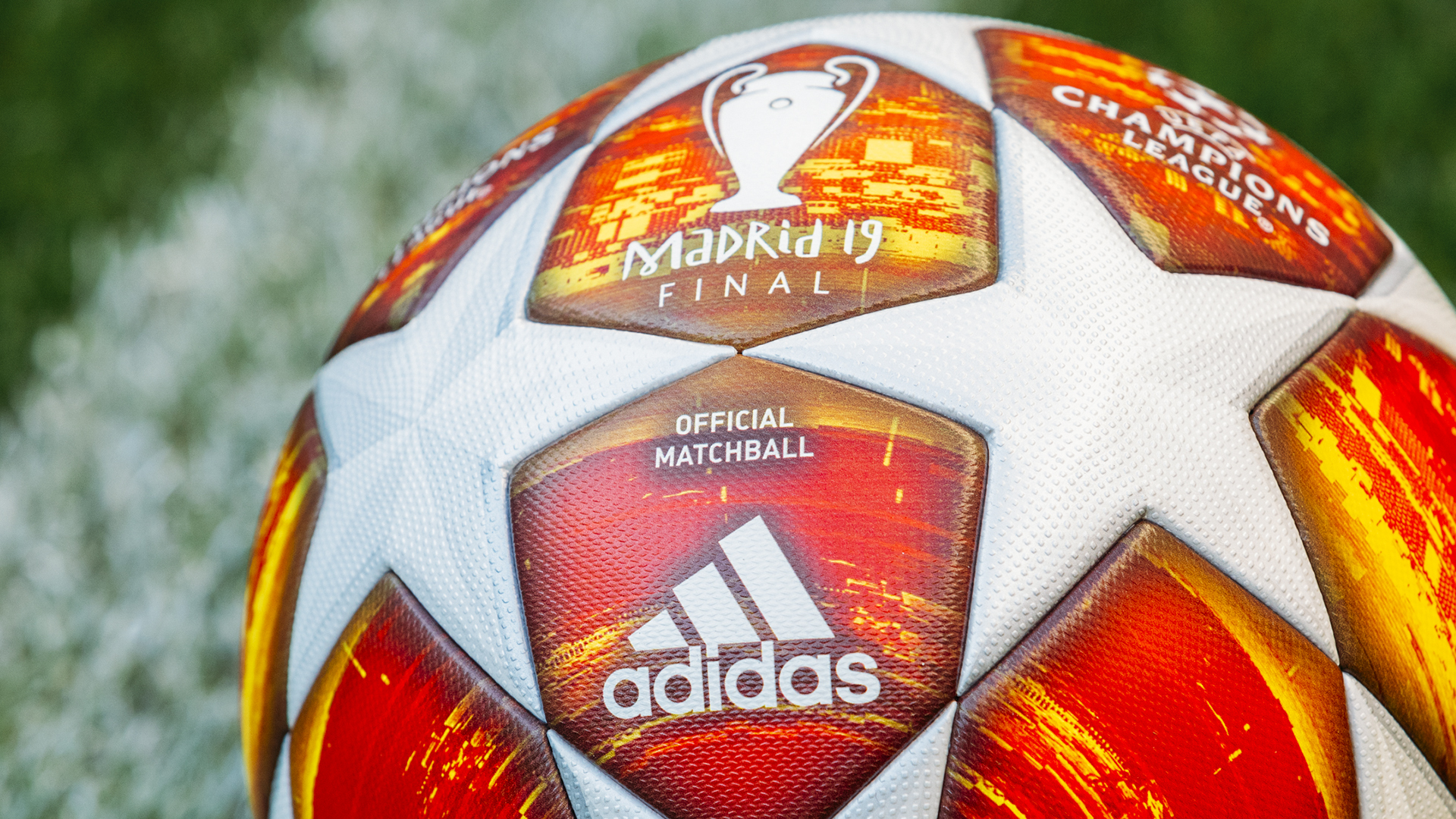 Adidas unveils official ball for Madrid Champions League final ...