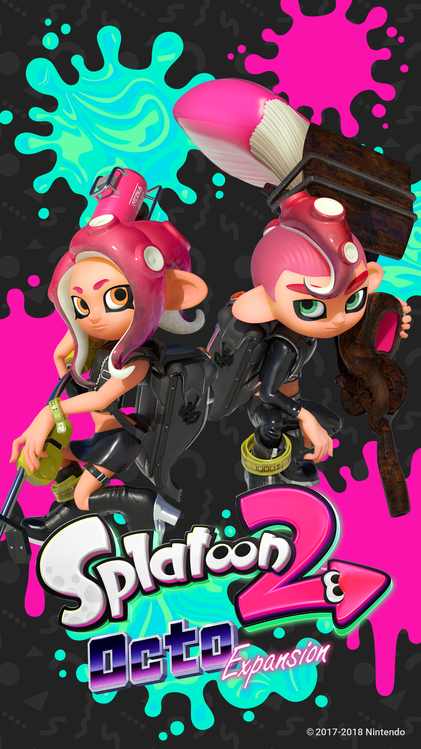 Splatoon 2 Octo Expansion Wallpapers Wallpaper Cave