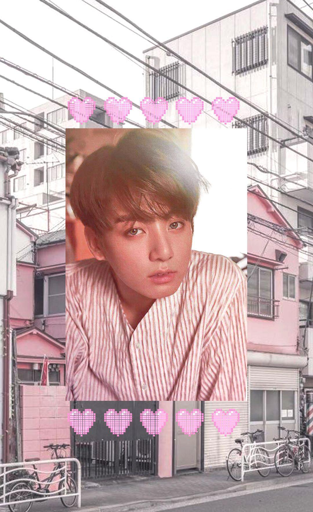 Jungkook Pink Aesthetic Wallpapers Wallpaper Cave