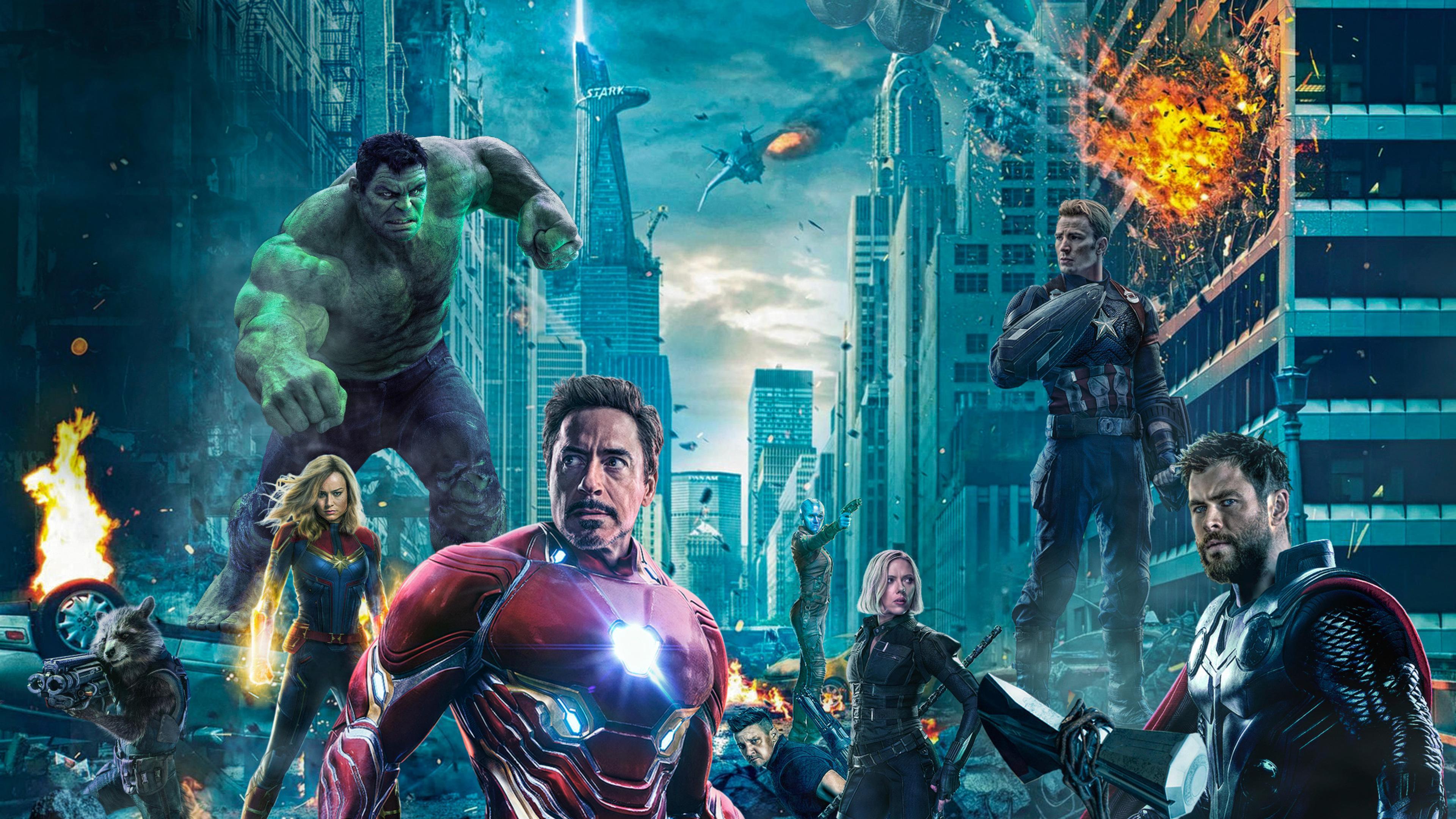 Avengers Endgame 4K Wallpapers - Wallpaper Cave