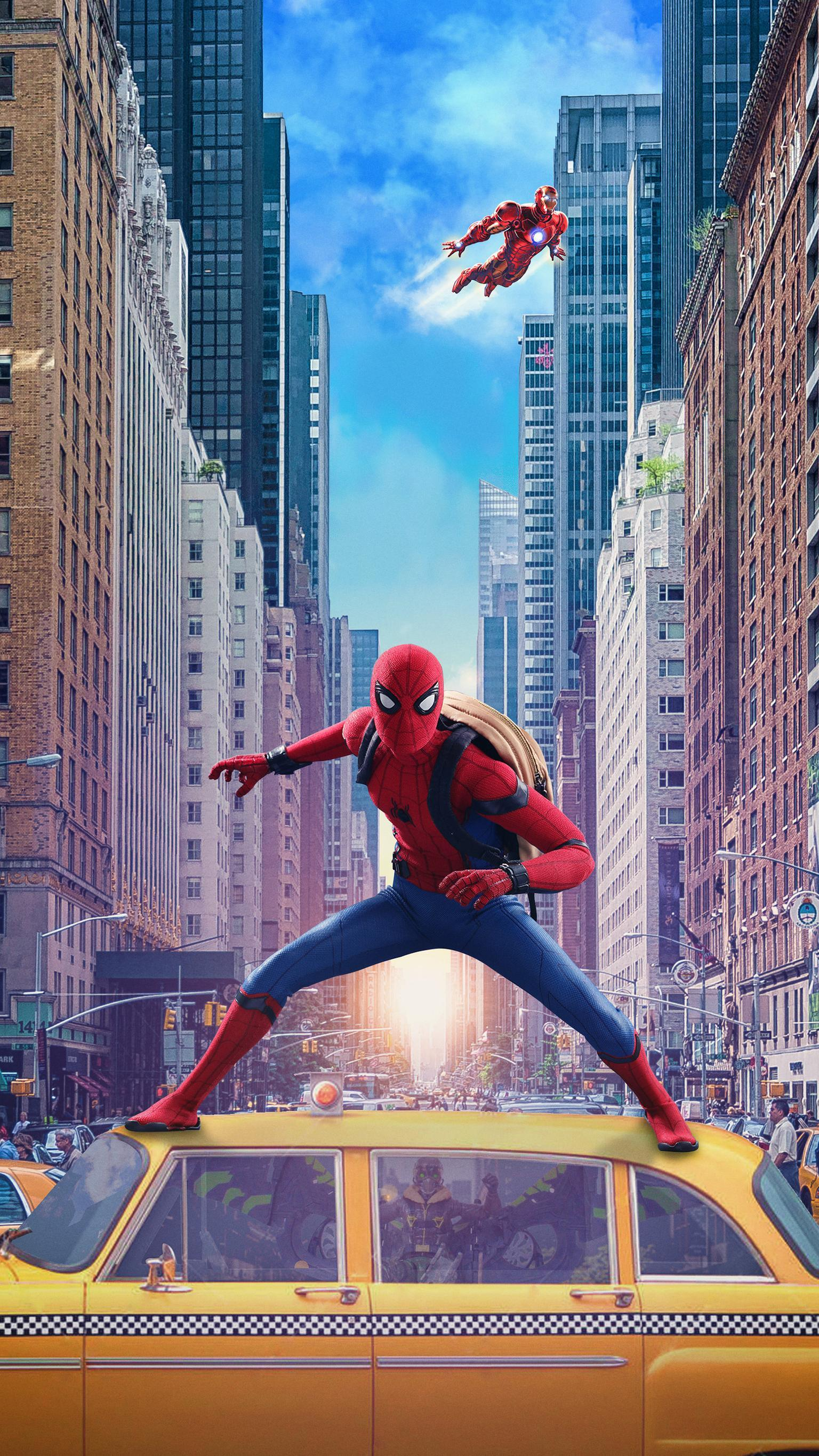 Spider Man And Zendaya Wallpapers Wallpaper Cave