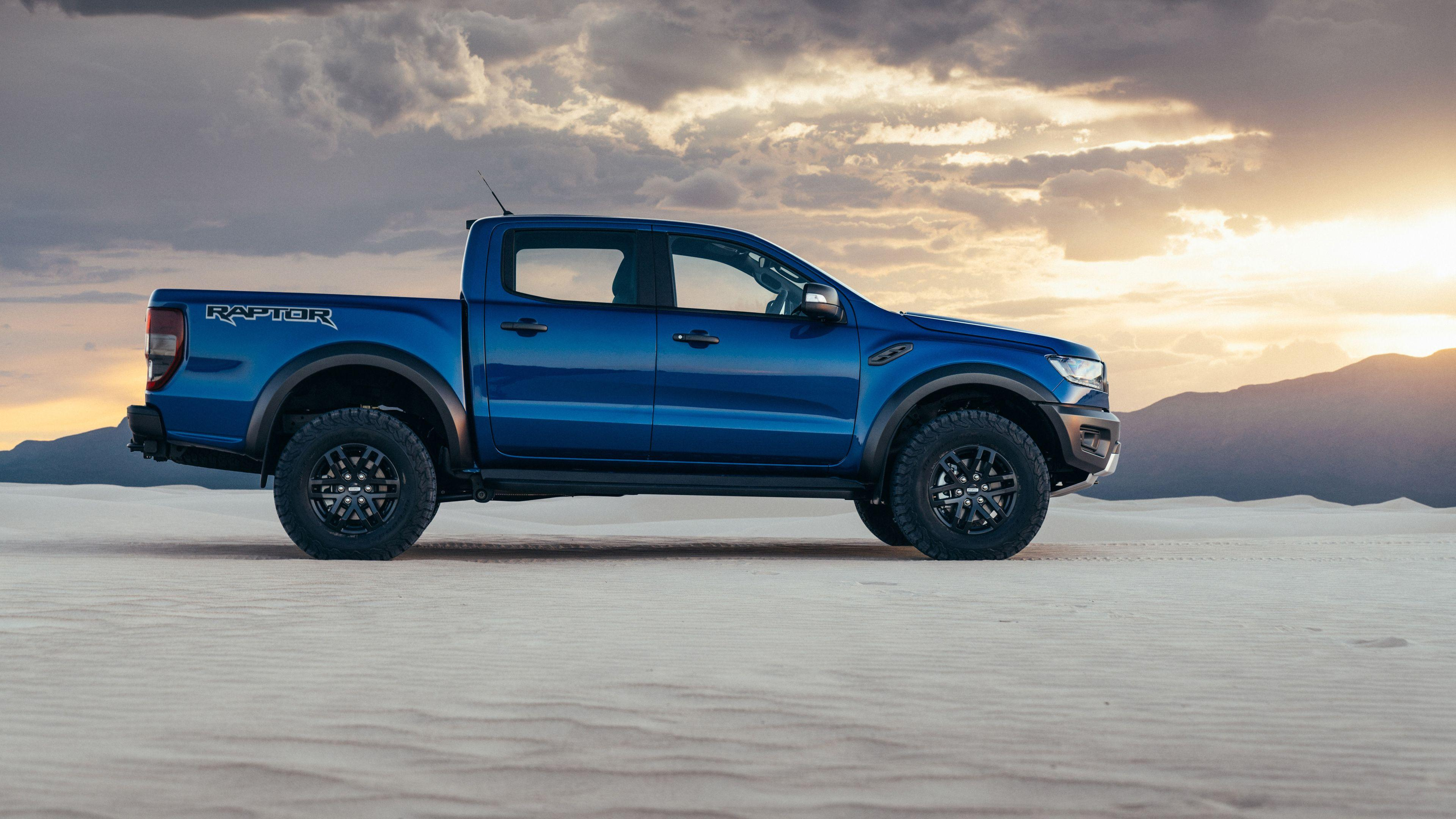 Ford Ranger Raptor Side View 2019 truck wallpapers, hd