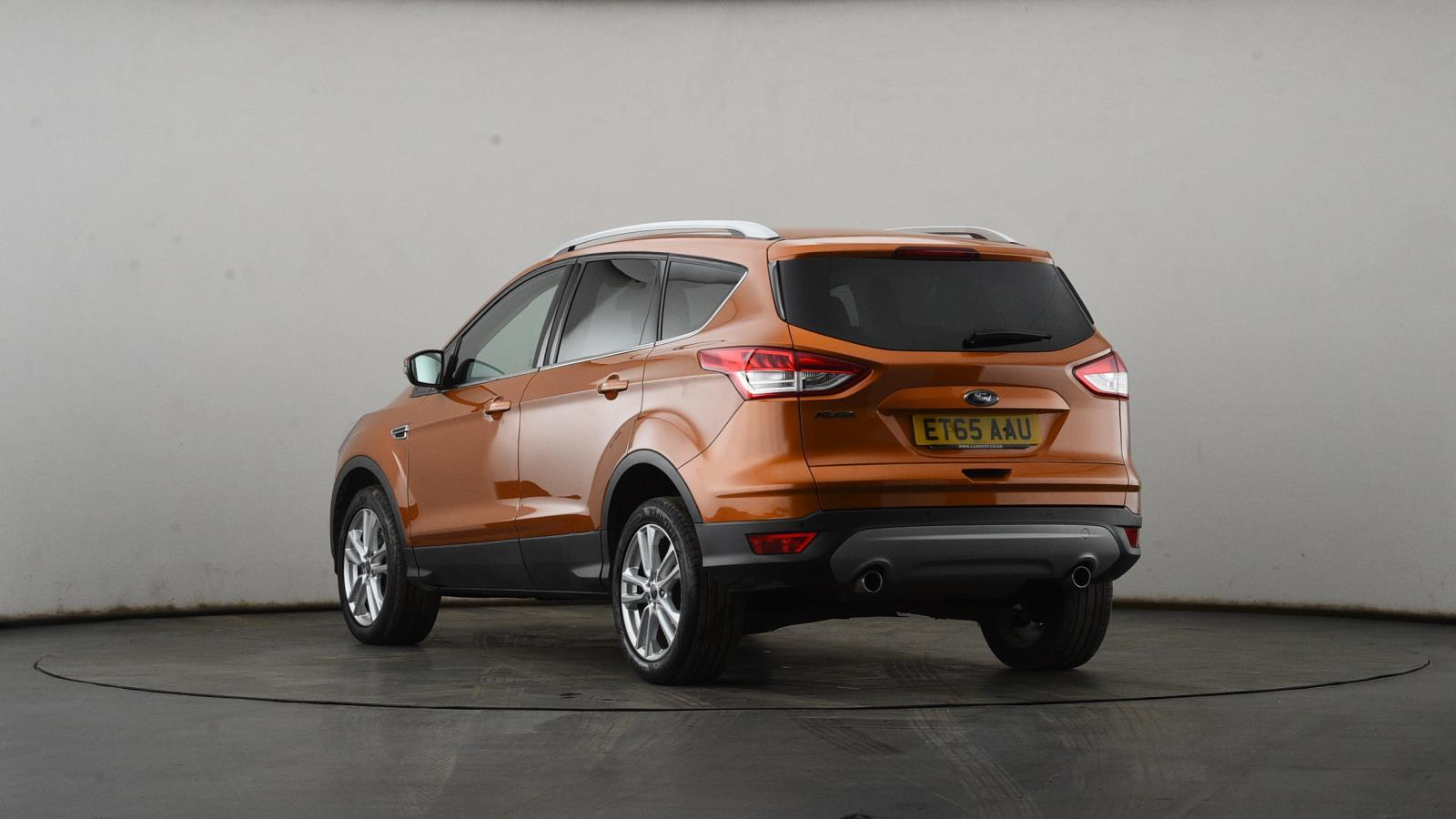 Used FORD KUGA 2.0 TDCi 150 Titanium X 5dr 2WD | Orange | ET65AAU ...