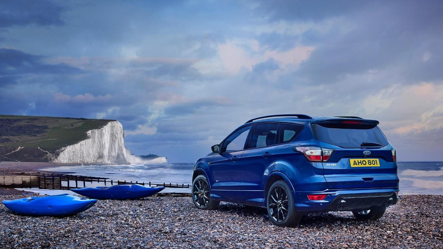 2019 Ford Kuga blue color rear profile hd 4k wallpaper - Latest Cars ...
