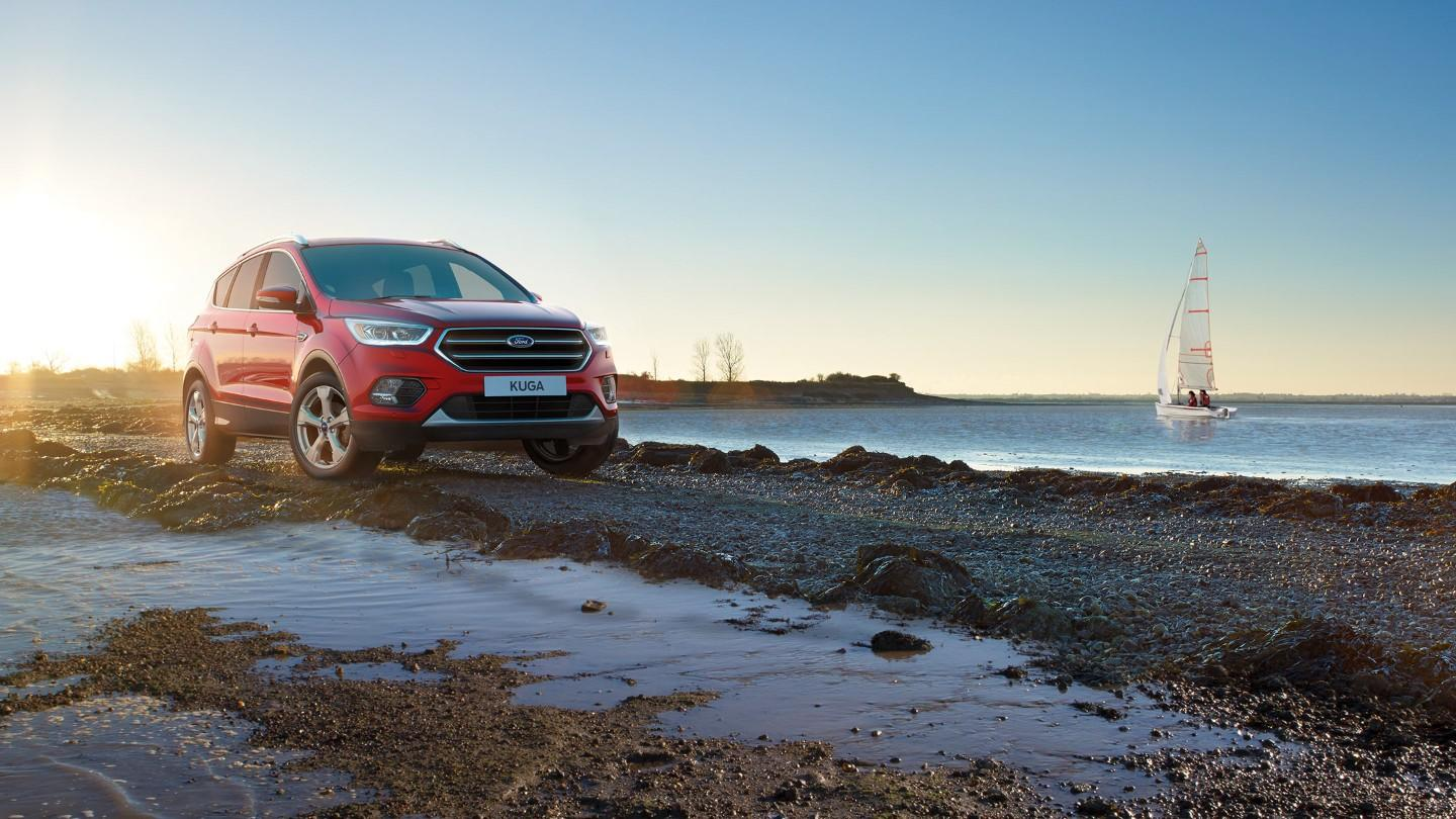 2019 Ford Kuga red color hd wallpaper - Latest Cars 2018-2019