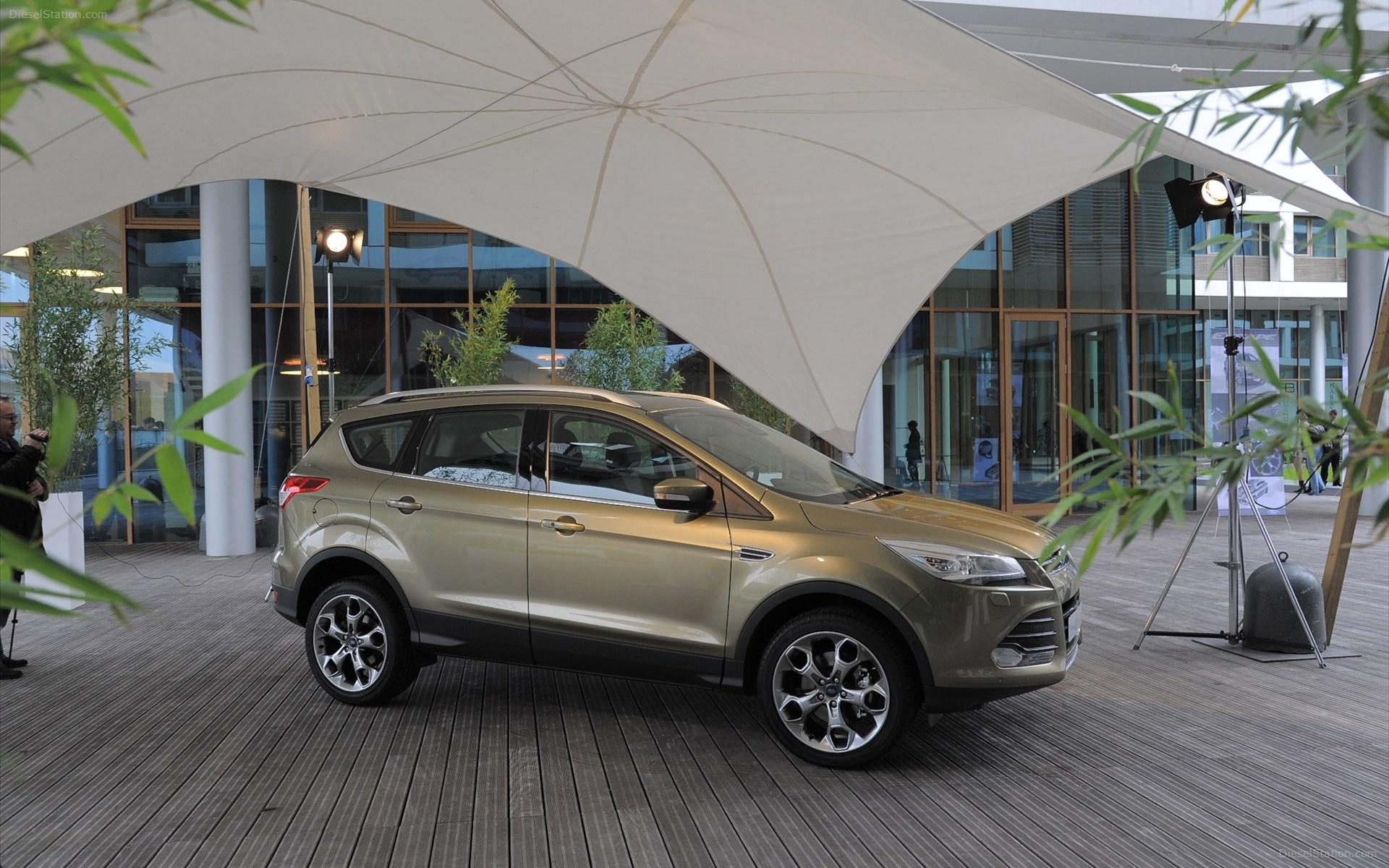 Ford Kuga 2012 Widescreen Exotic Car Wallpaper #03 of 8 : Diesel Station