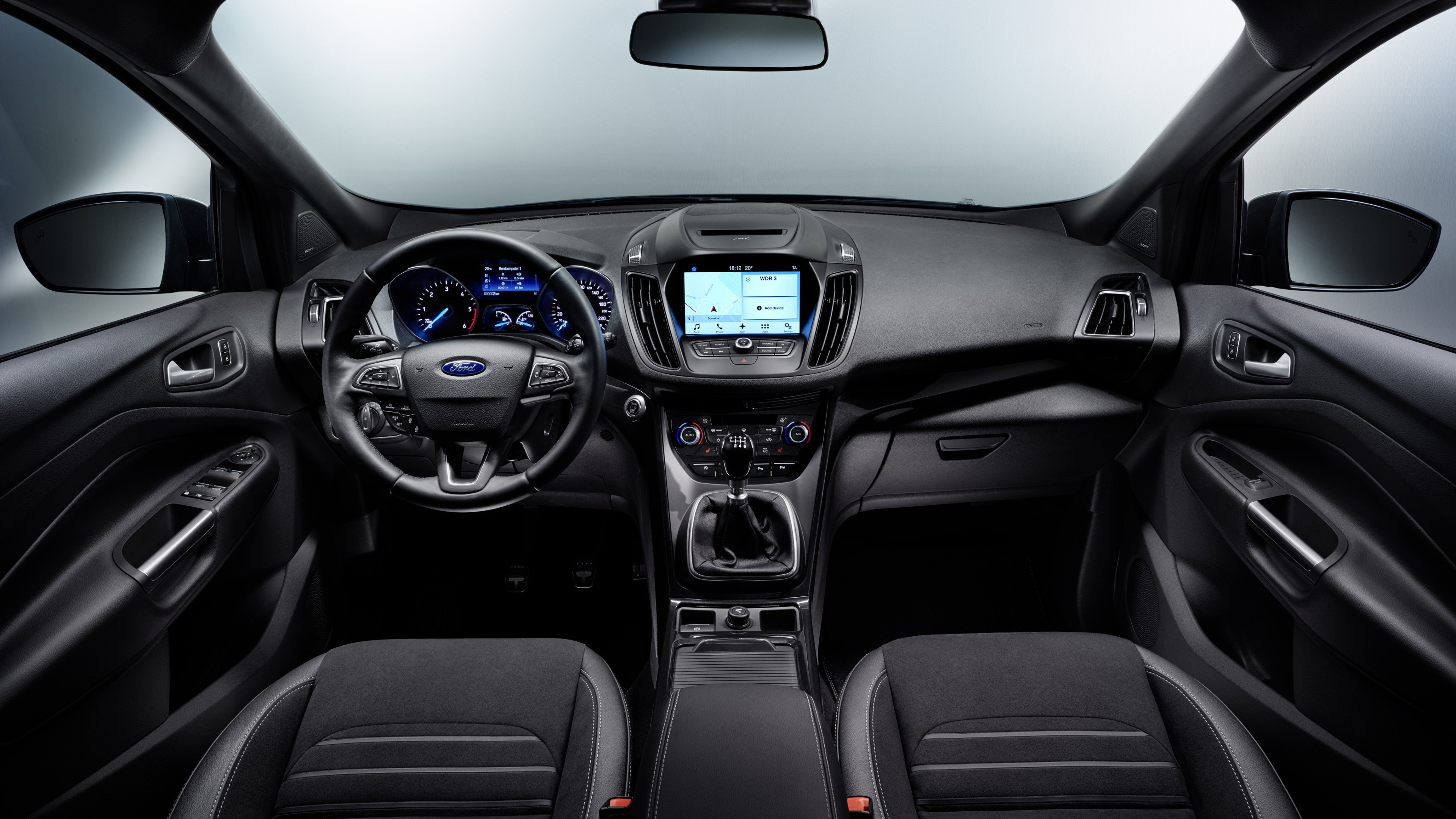 Wallpaper Ford Kuga, Geneva Auto Show 2016, interior, Cars & Bikes ...