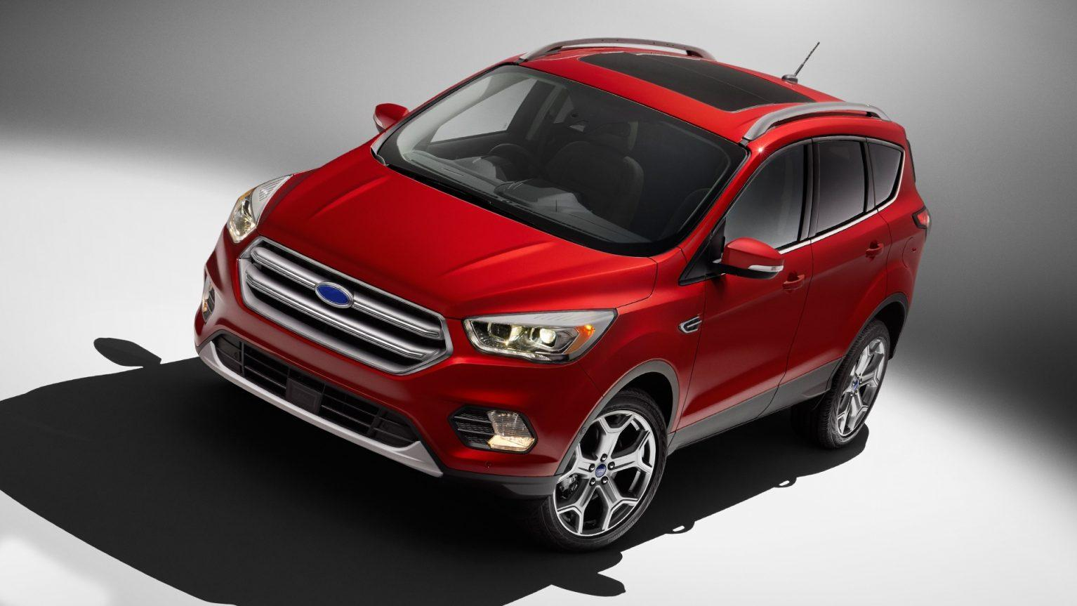2019 Ford Kuga Exterior HD Wallpaper | Autoweik.com