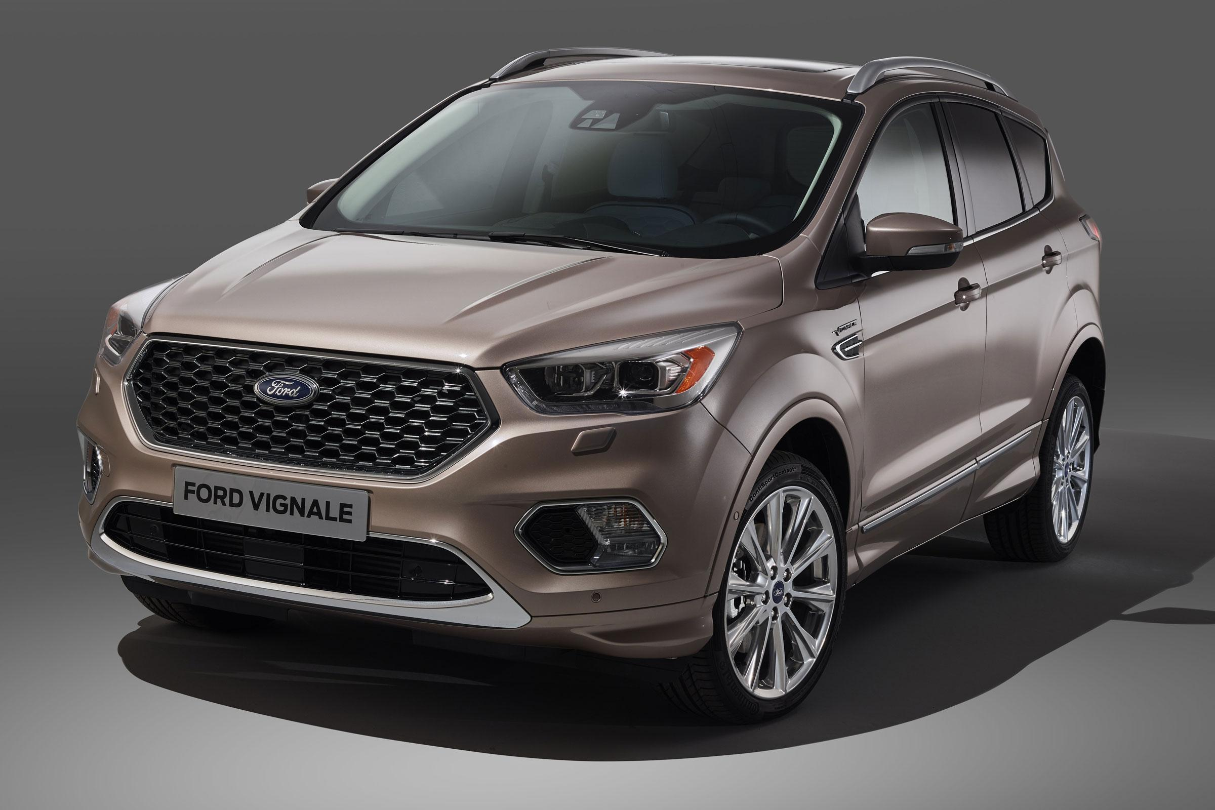 New Ford Kuga Vignale revealed in production form | Auto Express