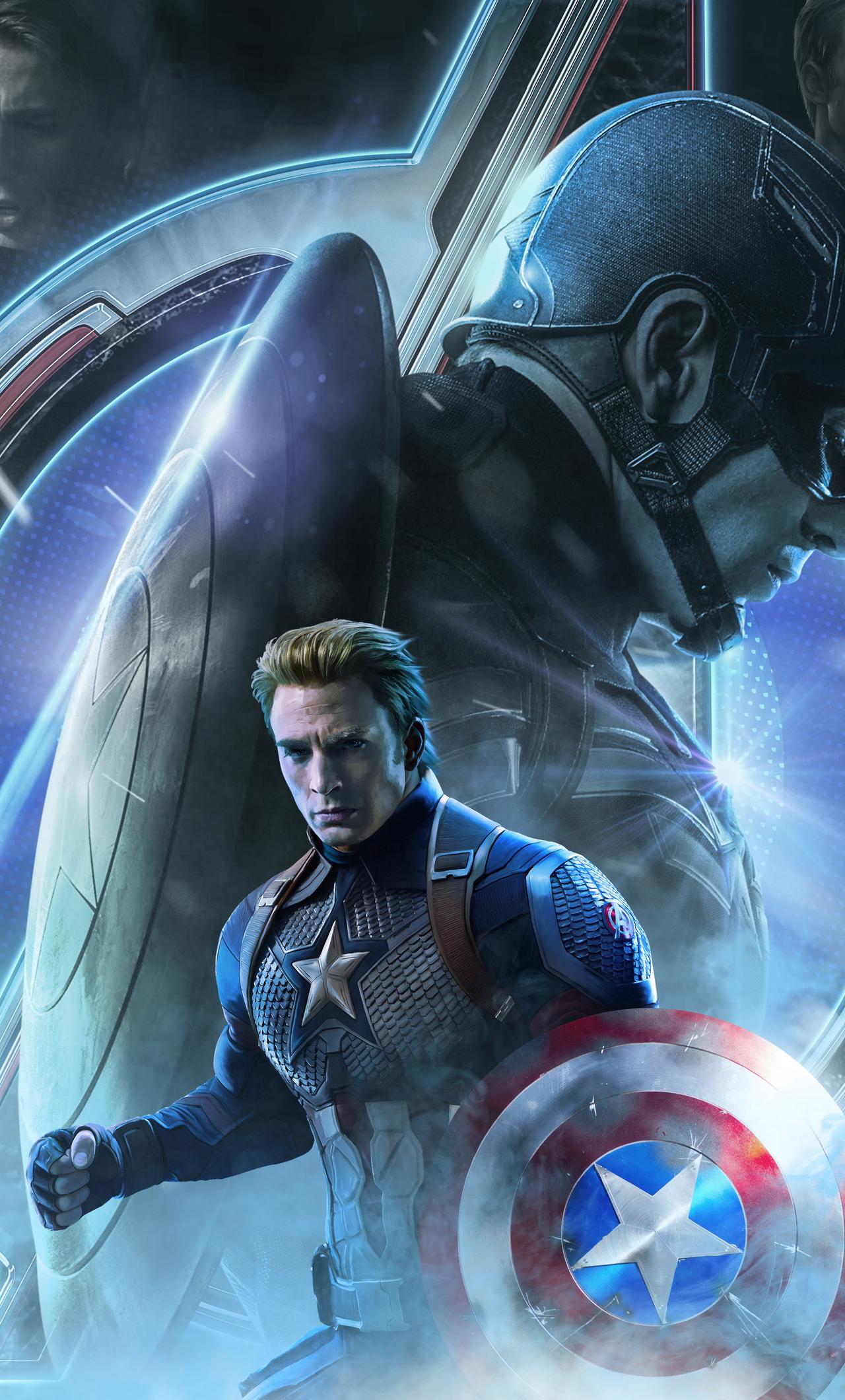 Captain America Endgame Wallpapers Wallpaper Cave