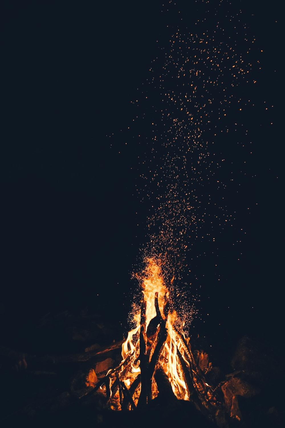 Camp Fire Wallpapers Wallpaper Cave